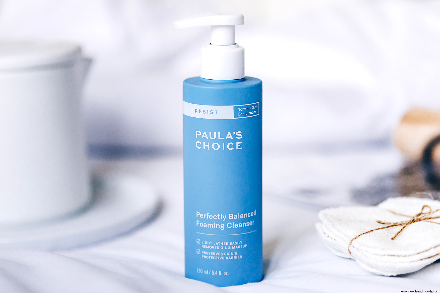 paula's choice avis perfectly balanced foaming cleanser