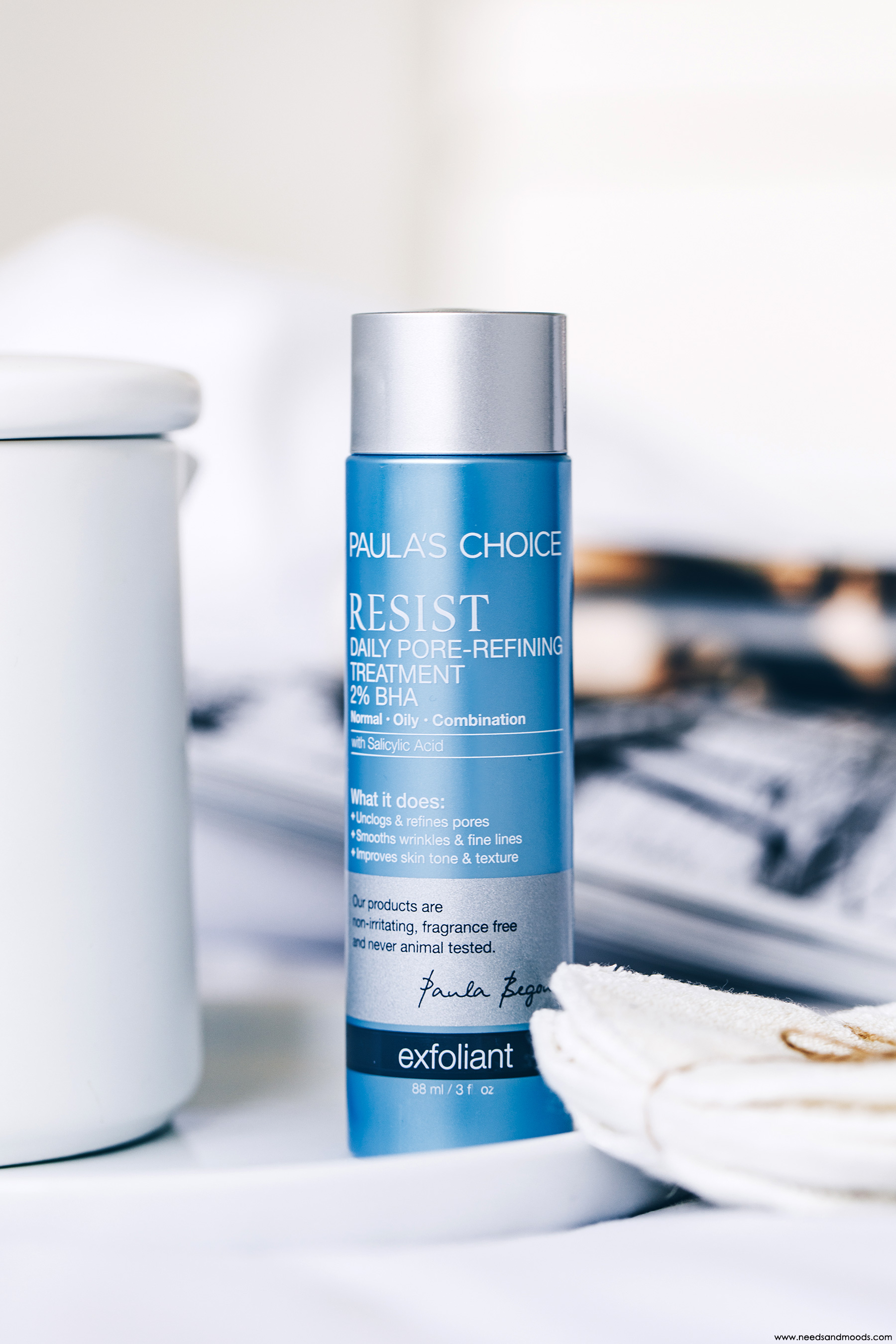 paula's choice resist daily pore refining treatment BHA