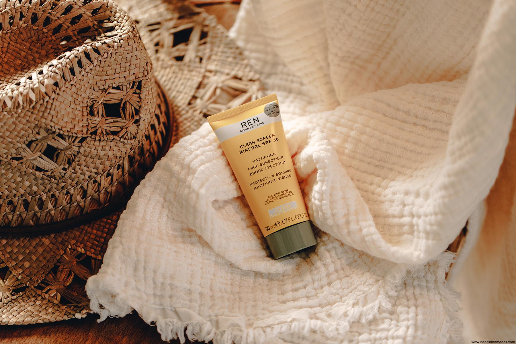 ren skincare creme solaire vegan