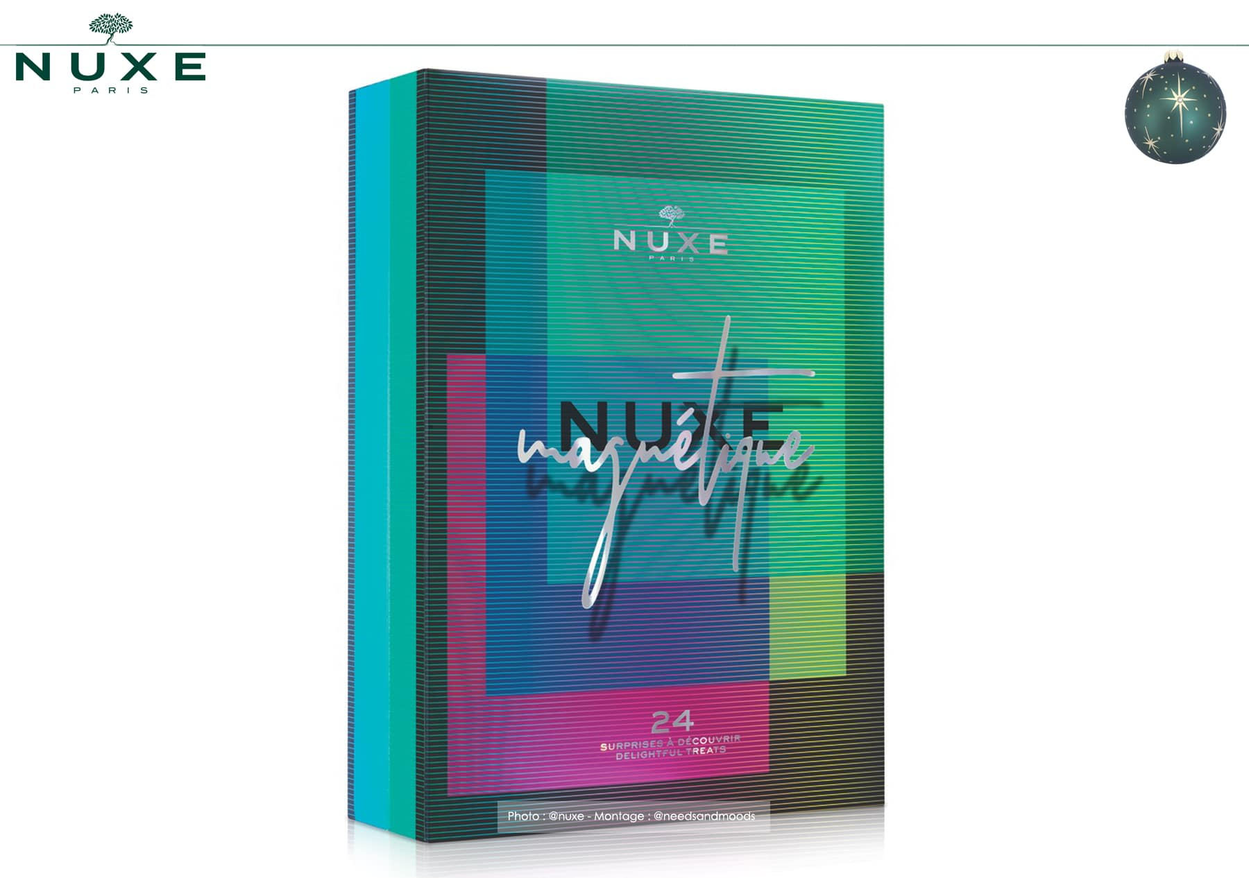 calendrier avent nuxe 2019