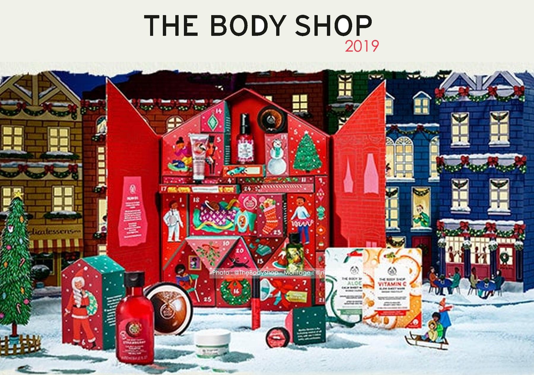calendrier-de-l'avent-the-body-shop-2019-classique