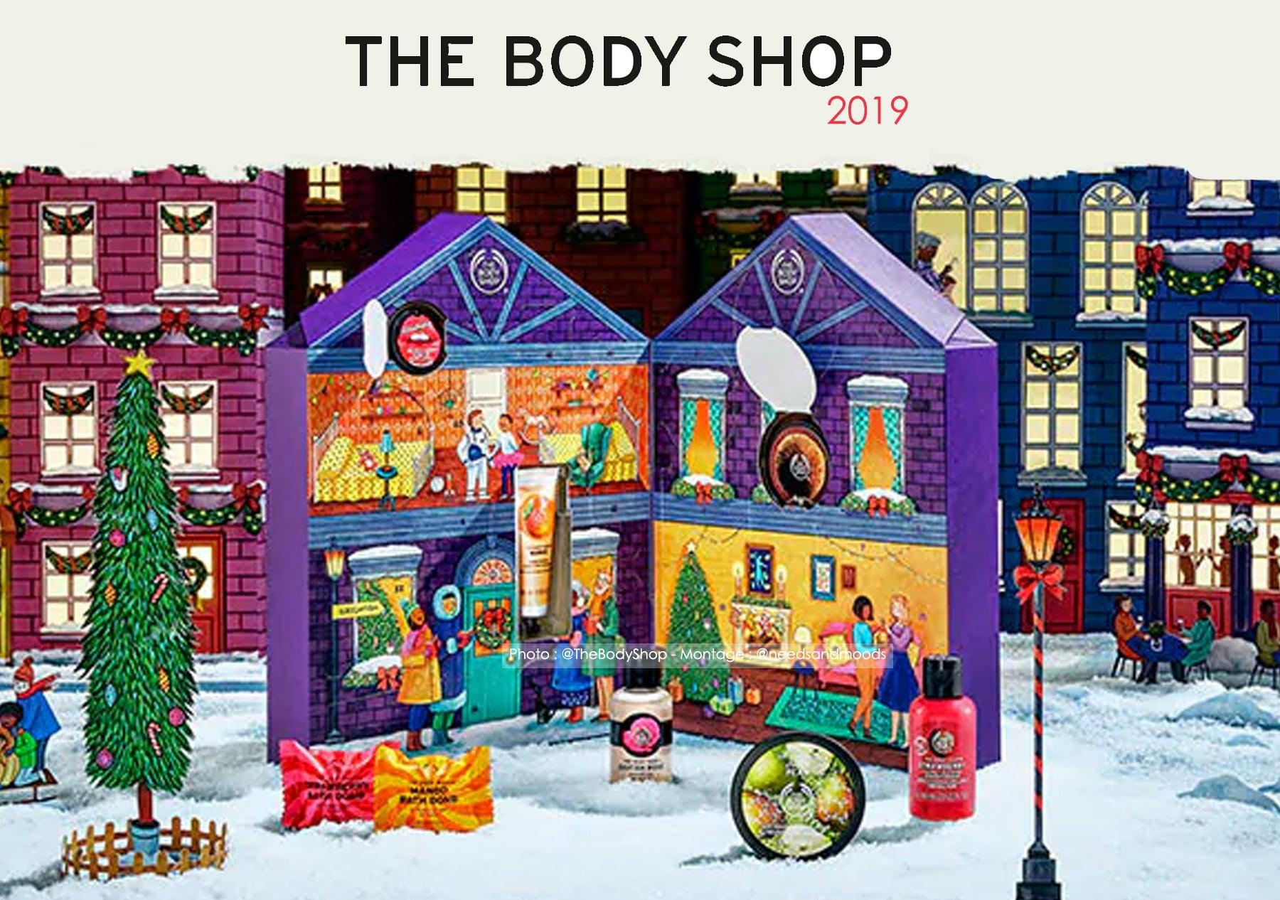 calendrier-de-l'avent-the-body-shop-2019-decouverte
