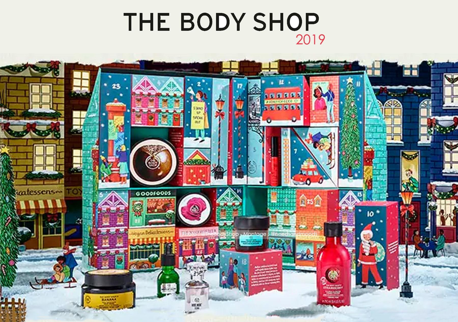 calendrier-de-l'avent-the-body-shop-2019-ultime