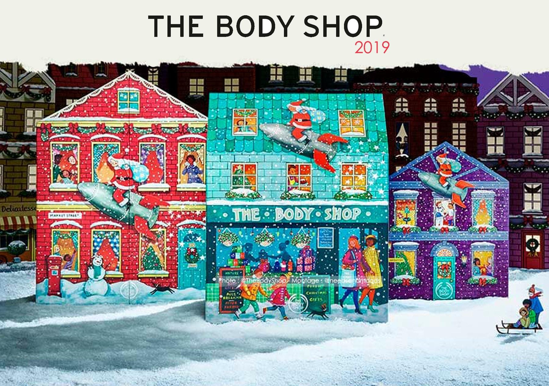 Calendrier De L Avent Que Mettre Dedans.Calendrier De L Avent The Body Shop 2019 Quel Est Son
