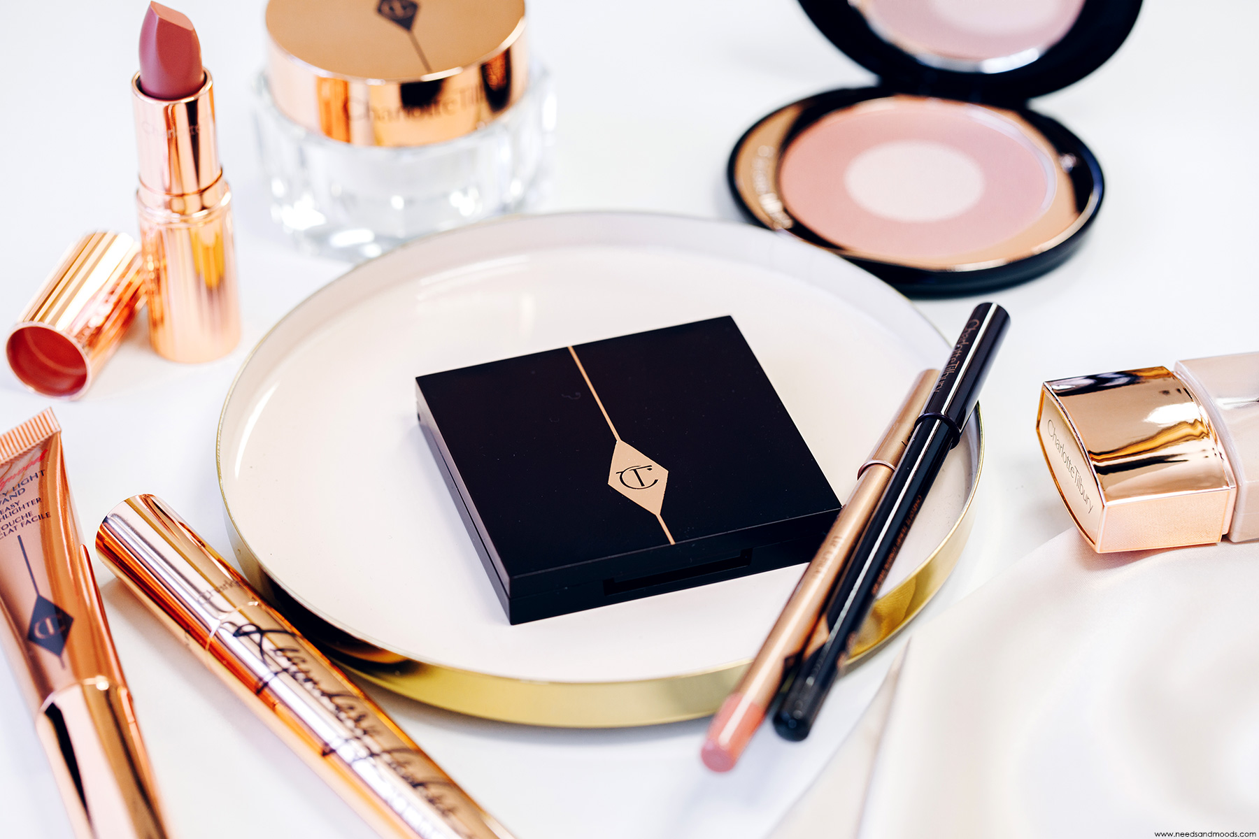charlotte tilbury luxury palette pillow talk avis