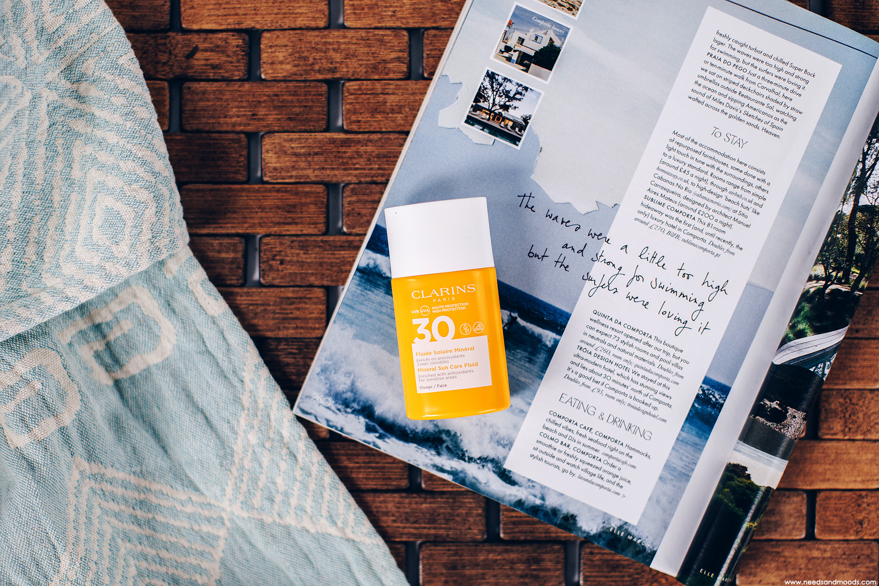 clarins fluide solaire mineral SPF 30