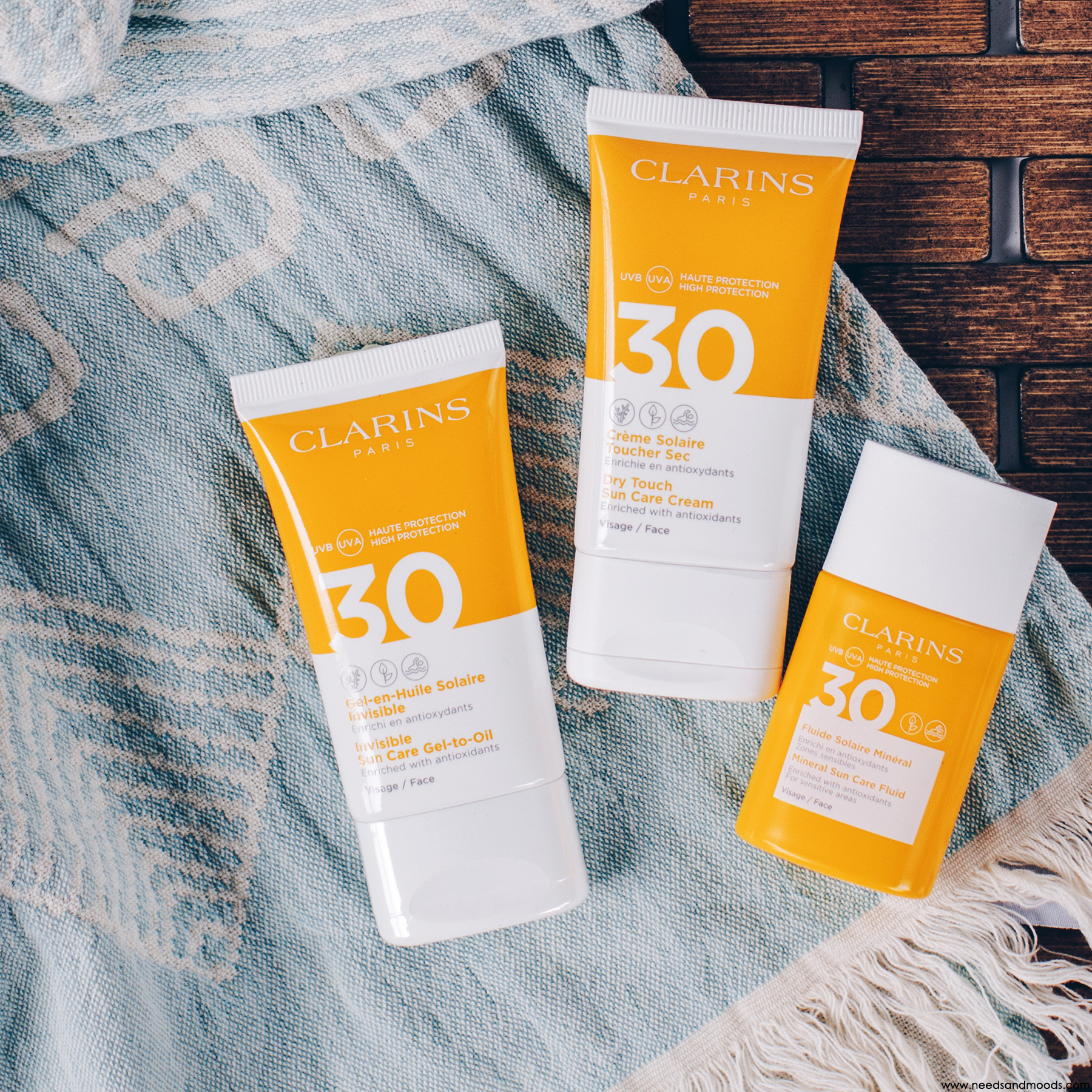 clarins protection solaire avis