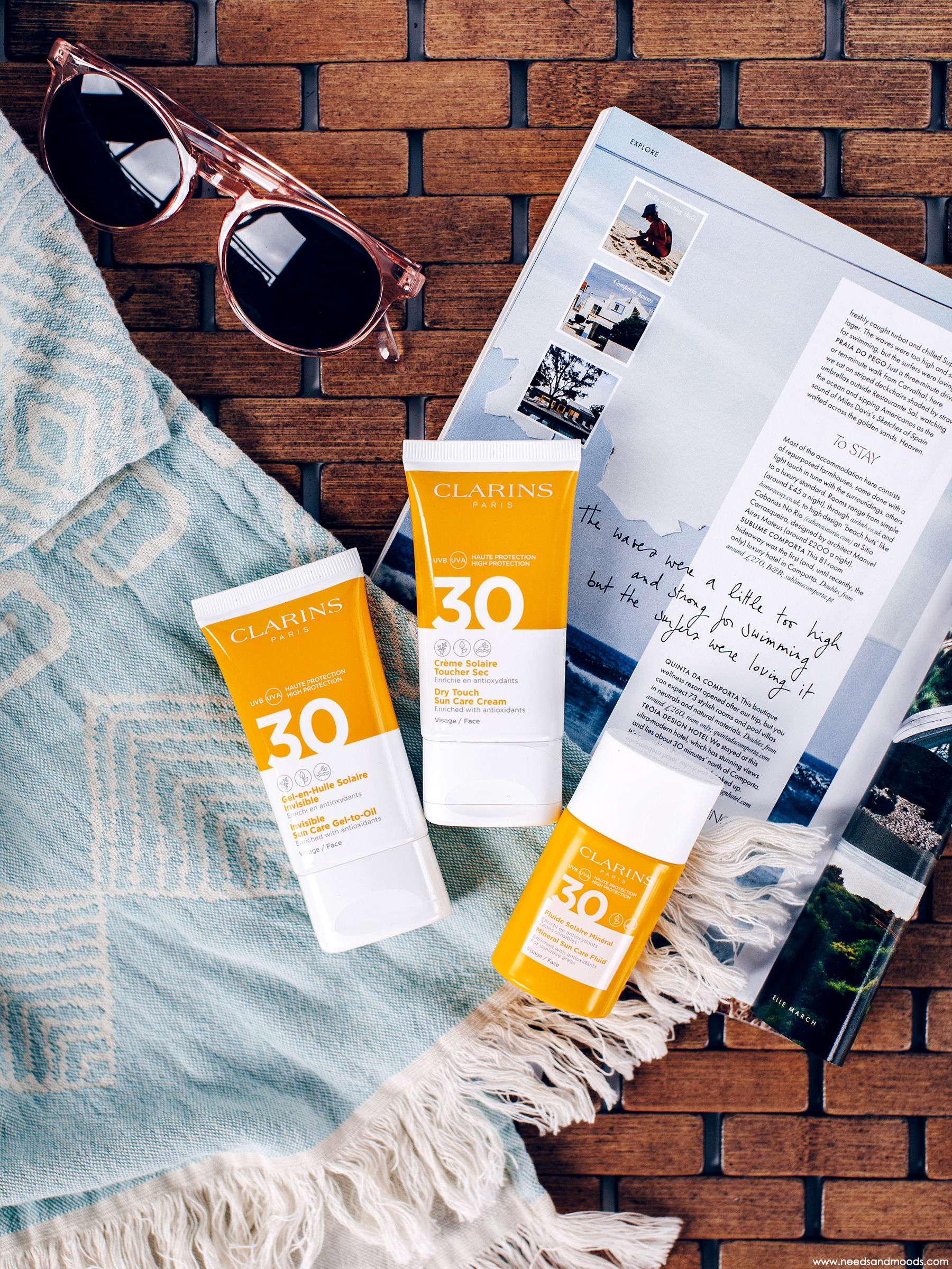 clarins protections solaires visage avis