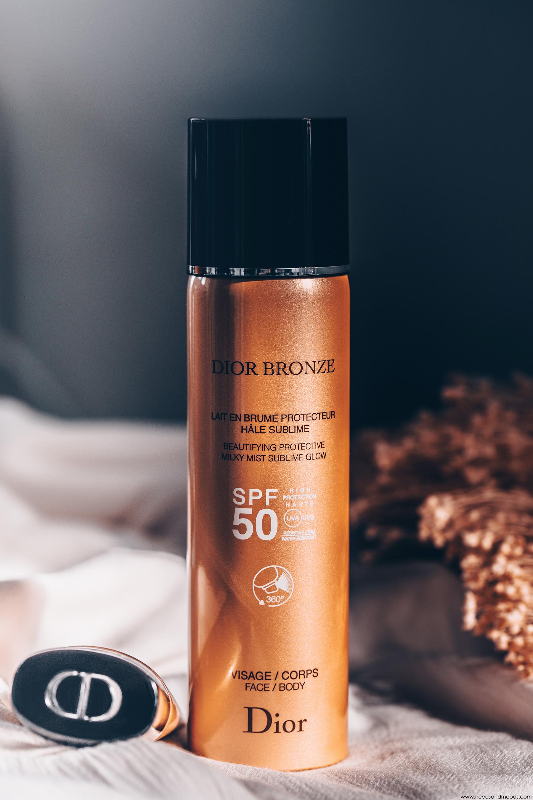 dior bronze lait brume protecteur hale sublime