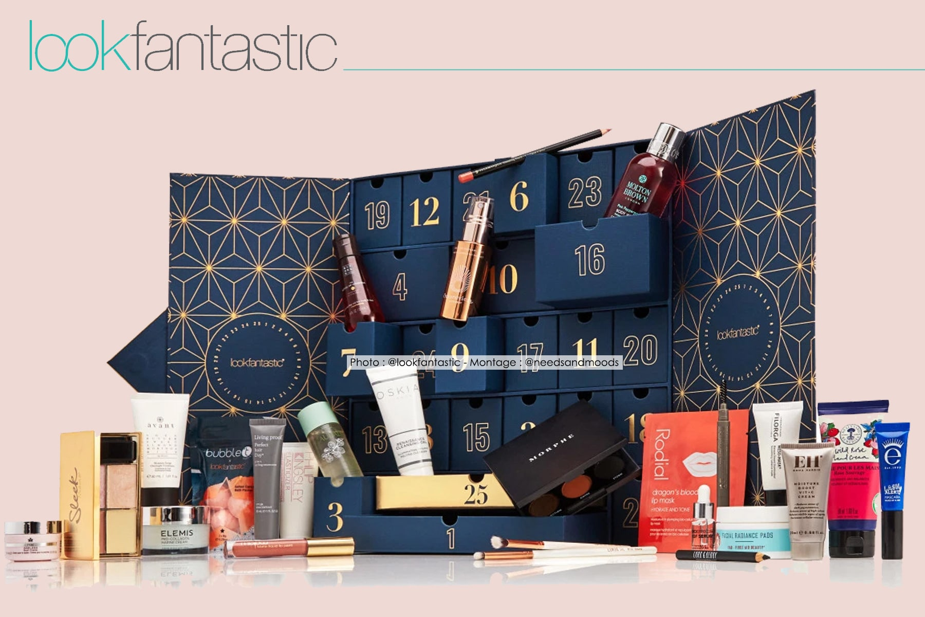 calendrier-avent-lookfantastic-2019-unboxing