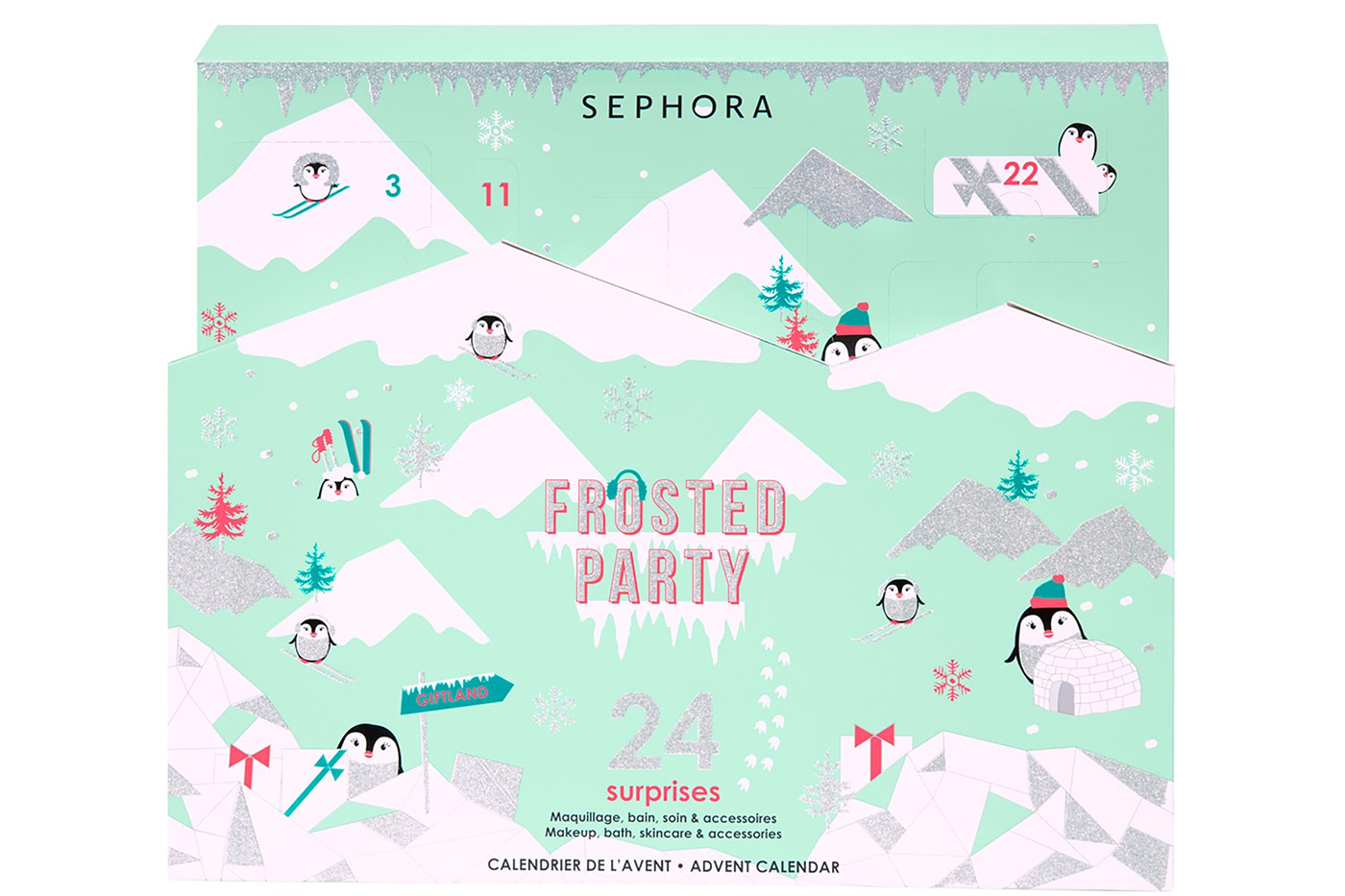 calendrier de l'avent sephora 2019 frosted party