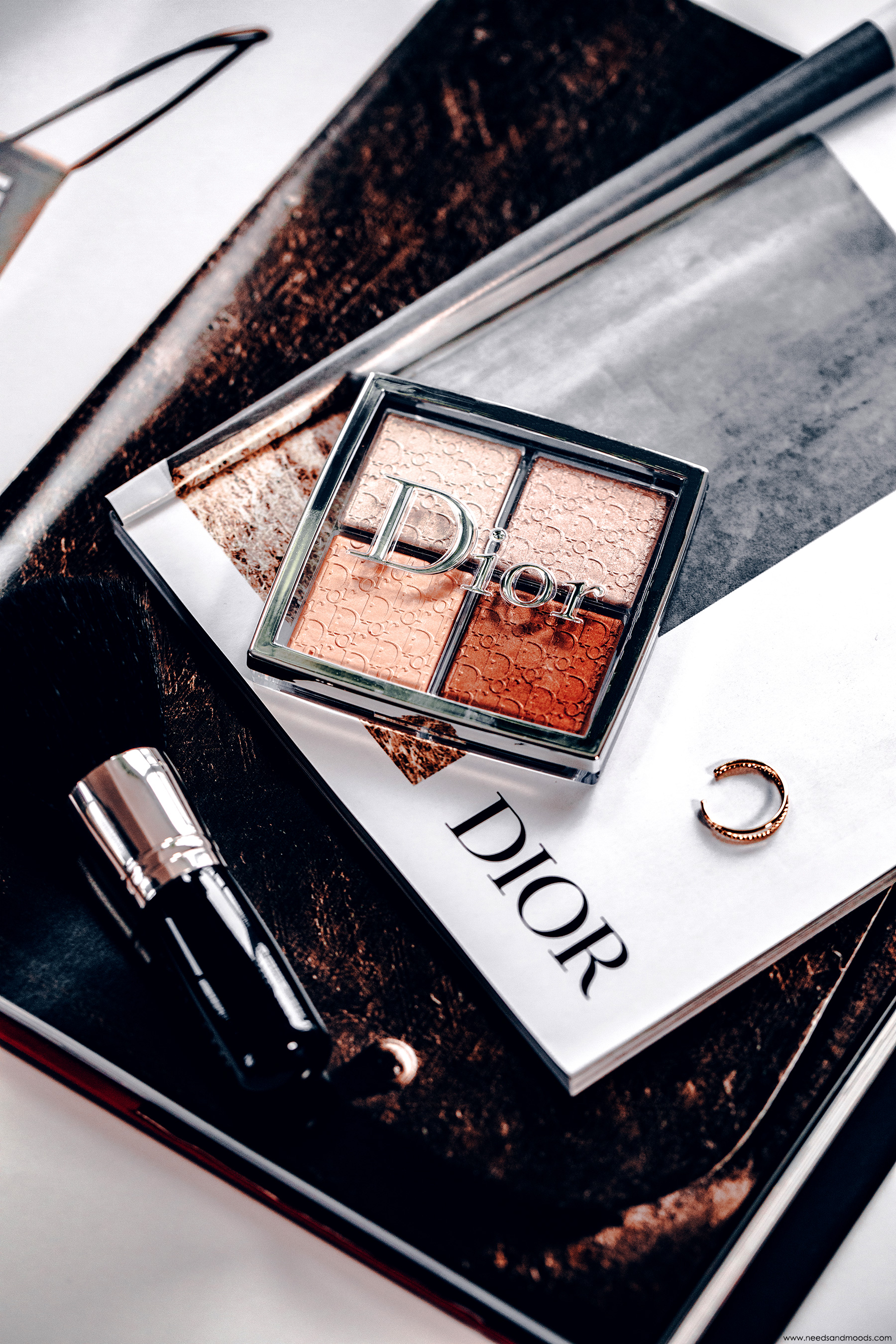 palette highlighter dior backstage