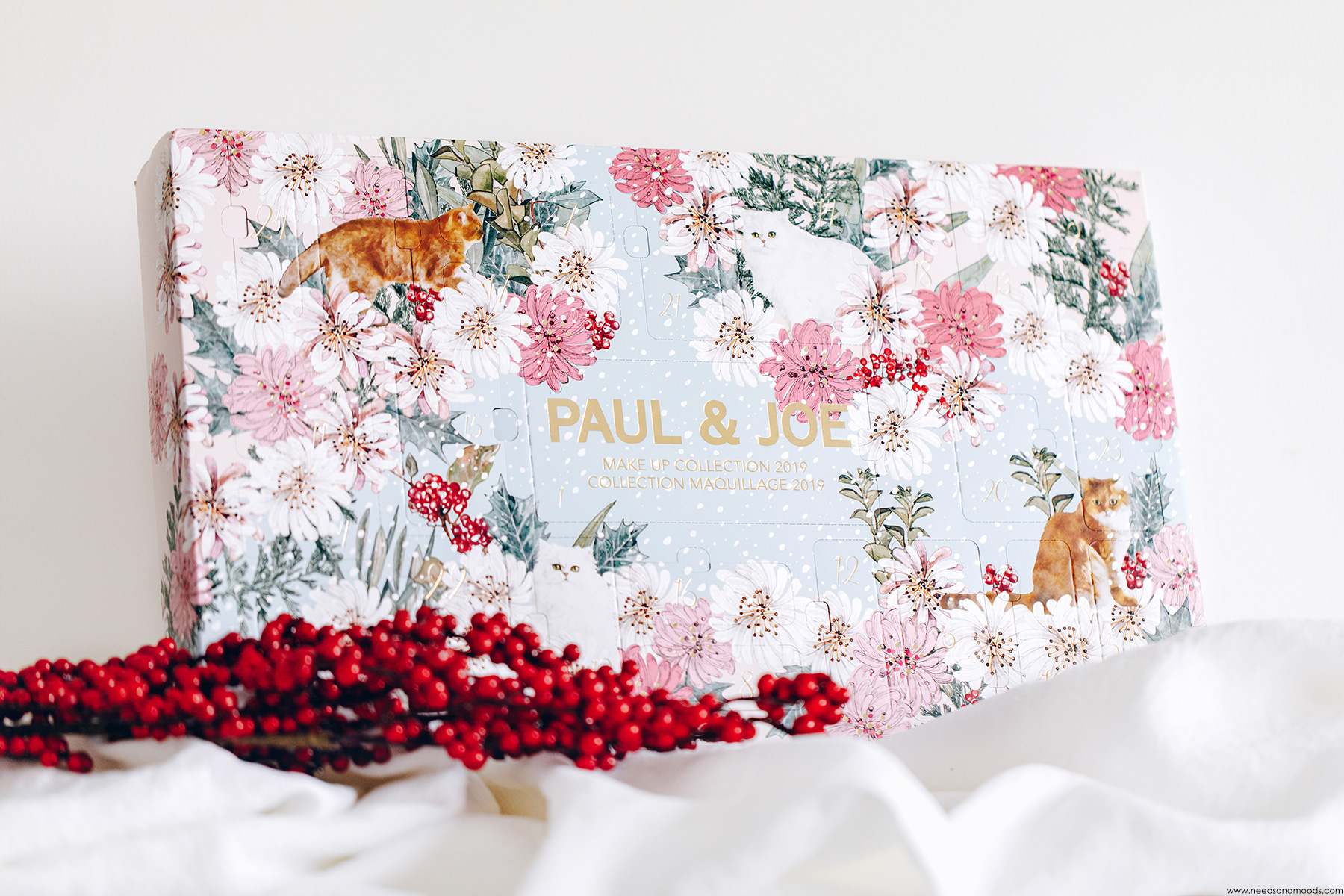 calendrier de l avent paul and joe beaute 2019