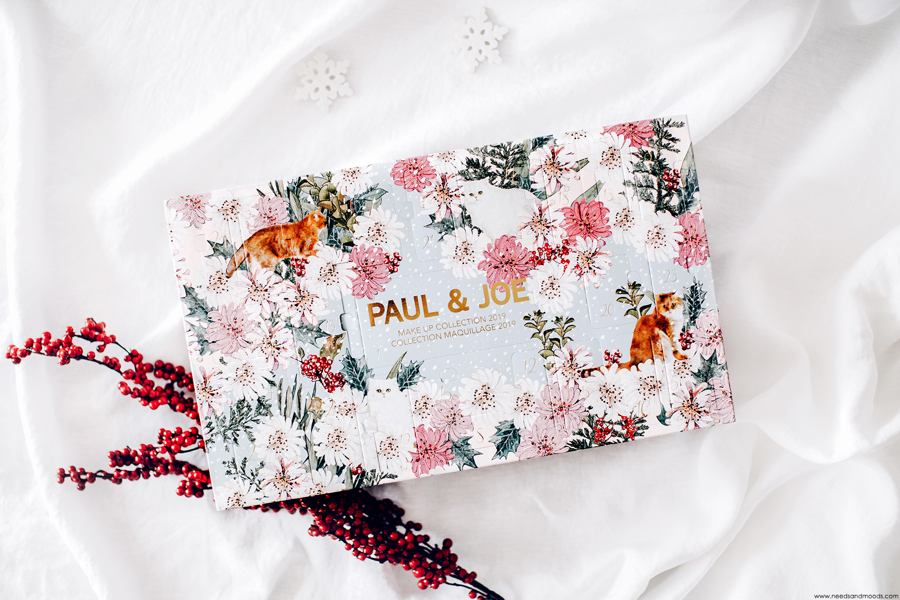 Calendrier de l'Avent Paul Joe Beauté 2019 : unboxing !