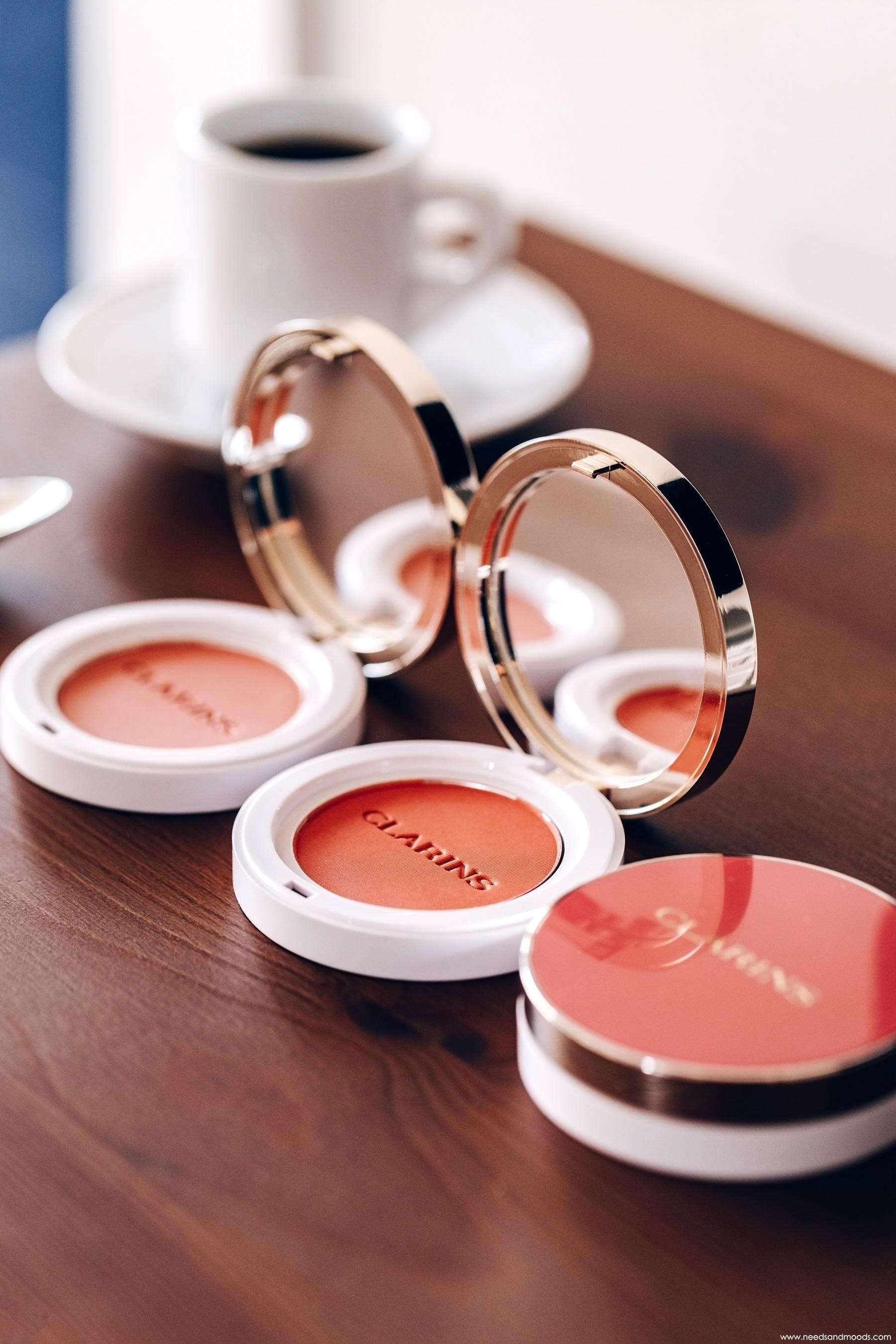 clarins joli blush 06 cheeky coral