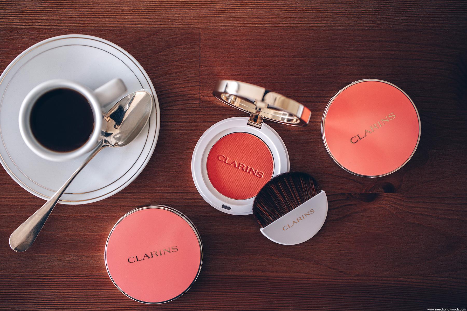 clarins joli blush 07 cheeky peach