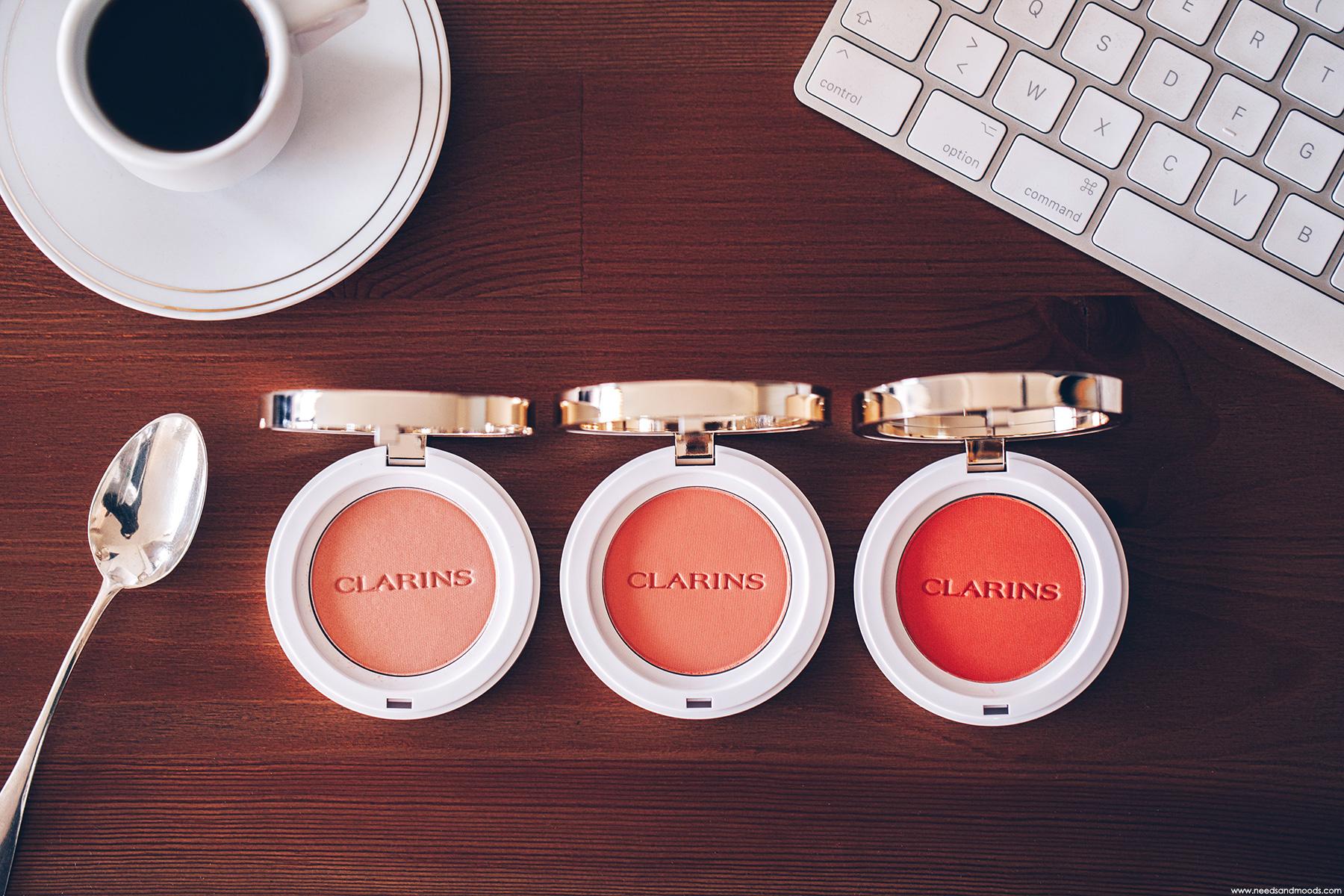clarins joli blush cheeky boum peach coral