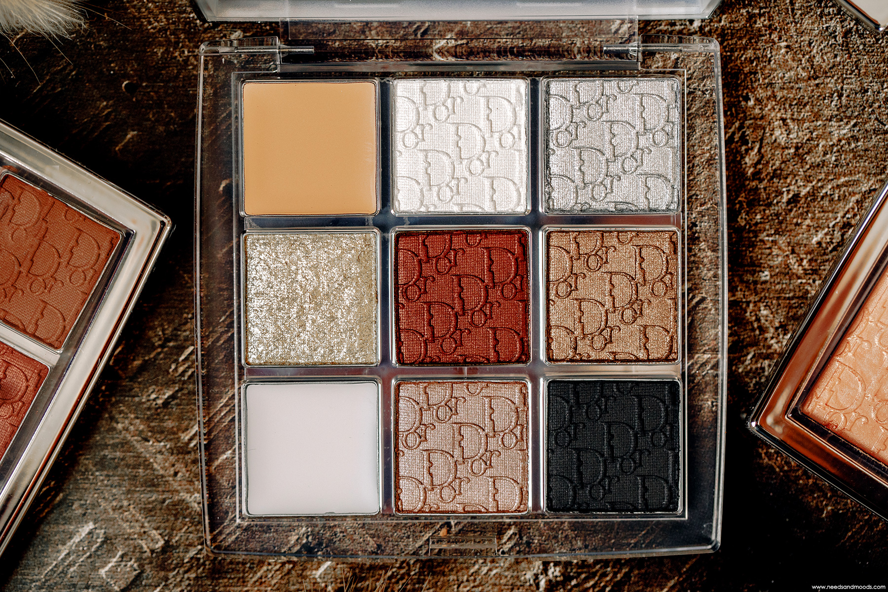 dior backstage custom eye palette fards paupieres