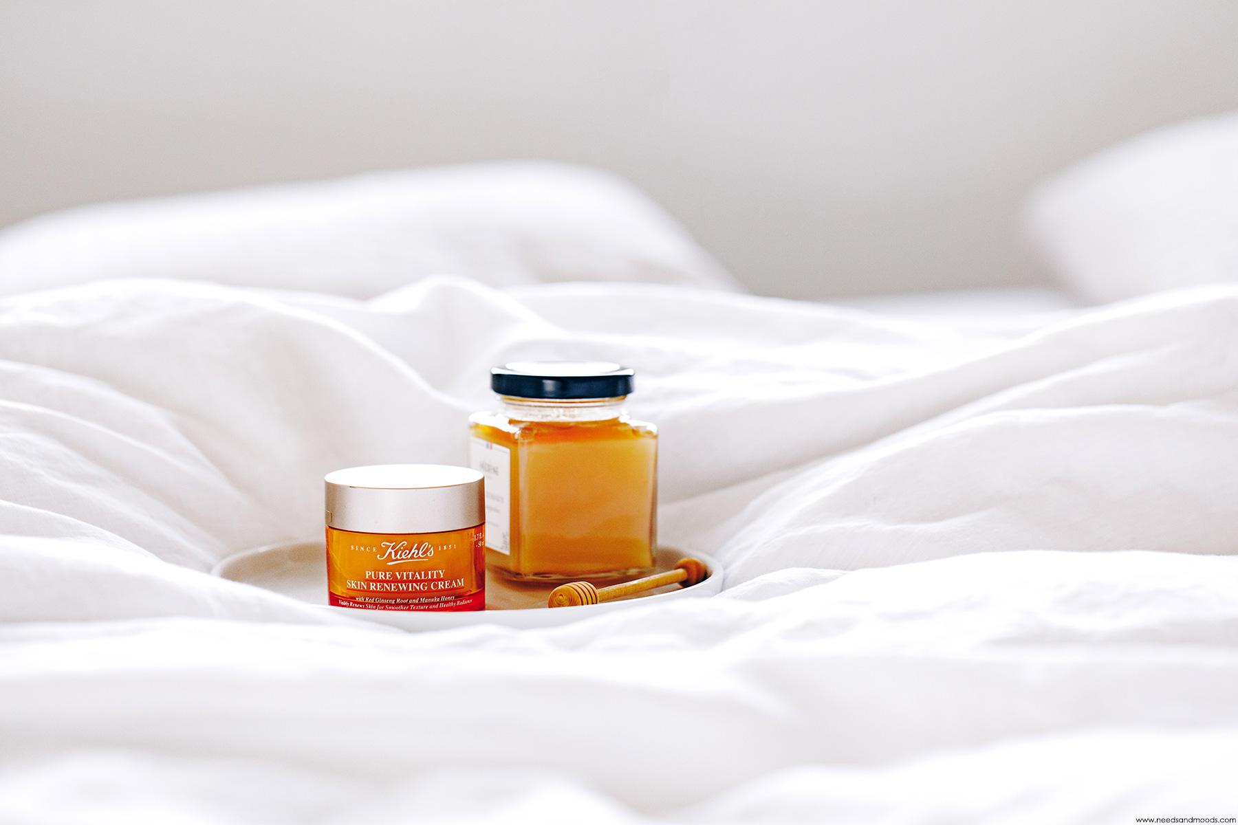 kiehls pure vitality skin renewing cream avis