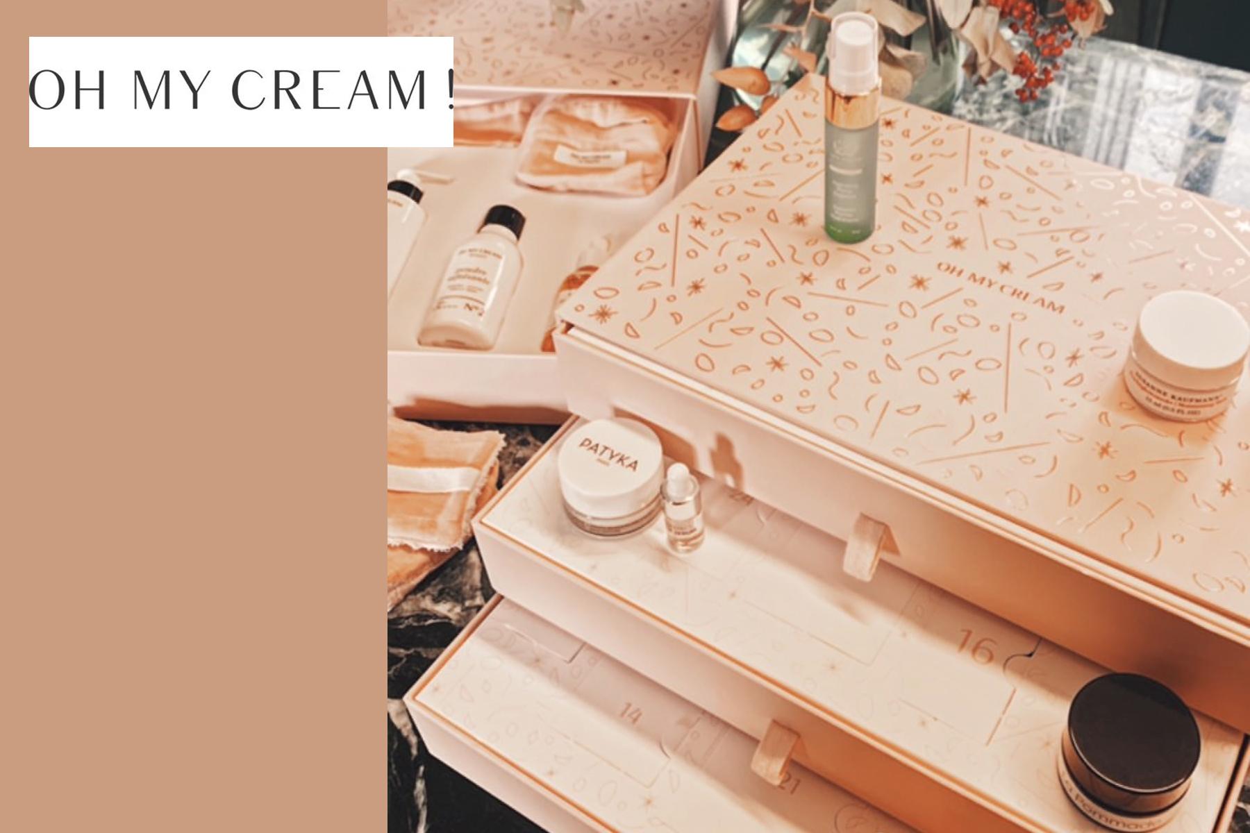 oh my cream calendrier de lavent 2019 contenu