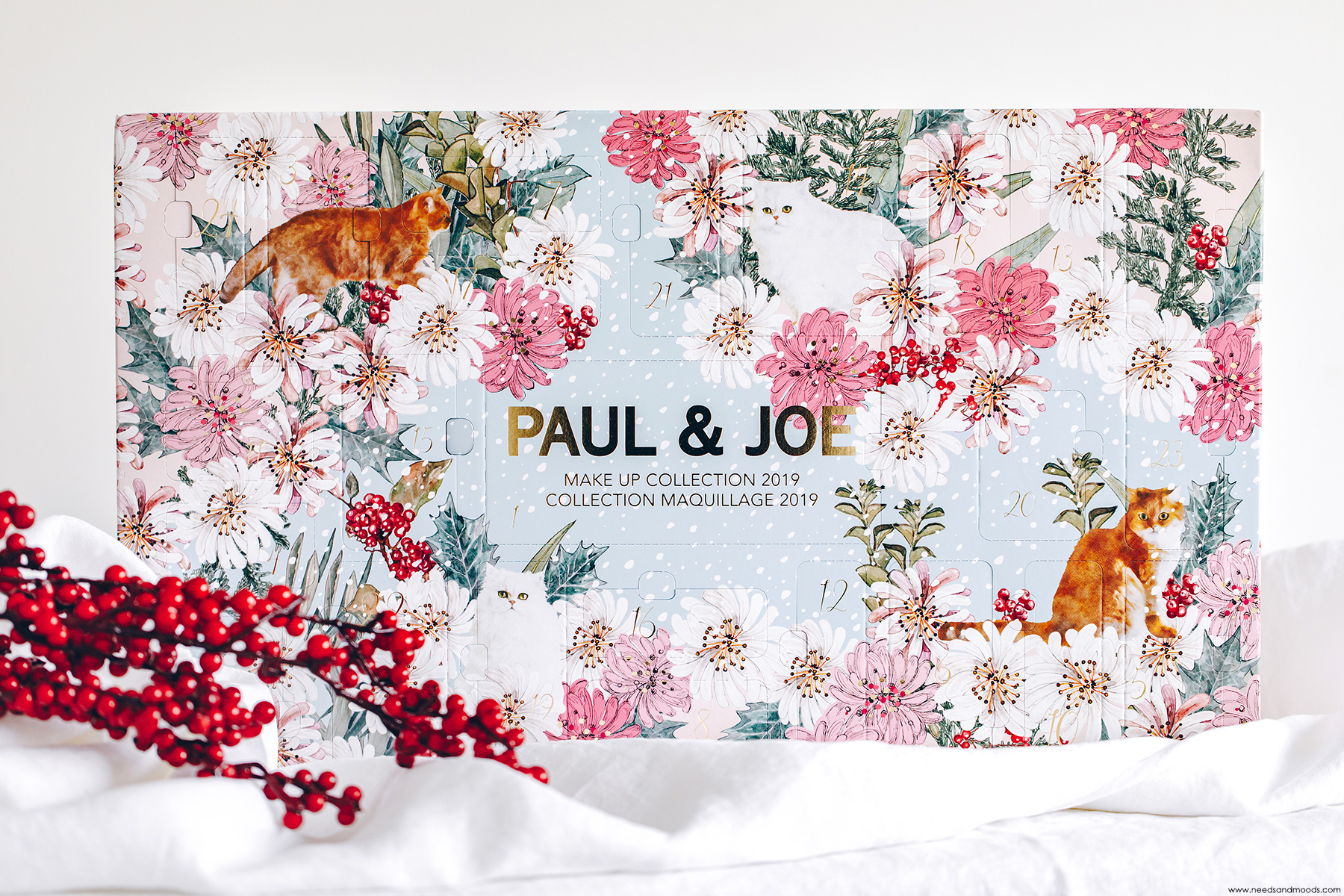 paul joe beaute calendrier de lavent 2019
