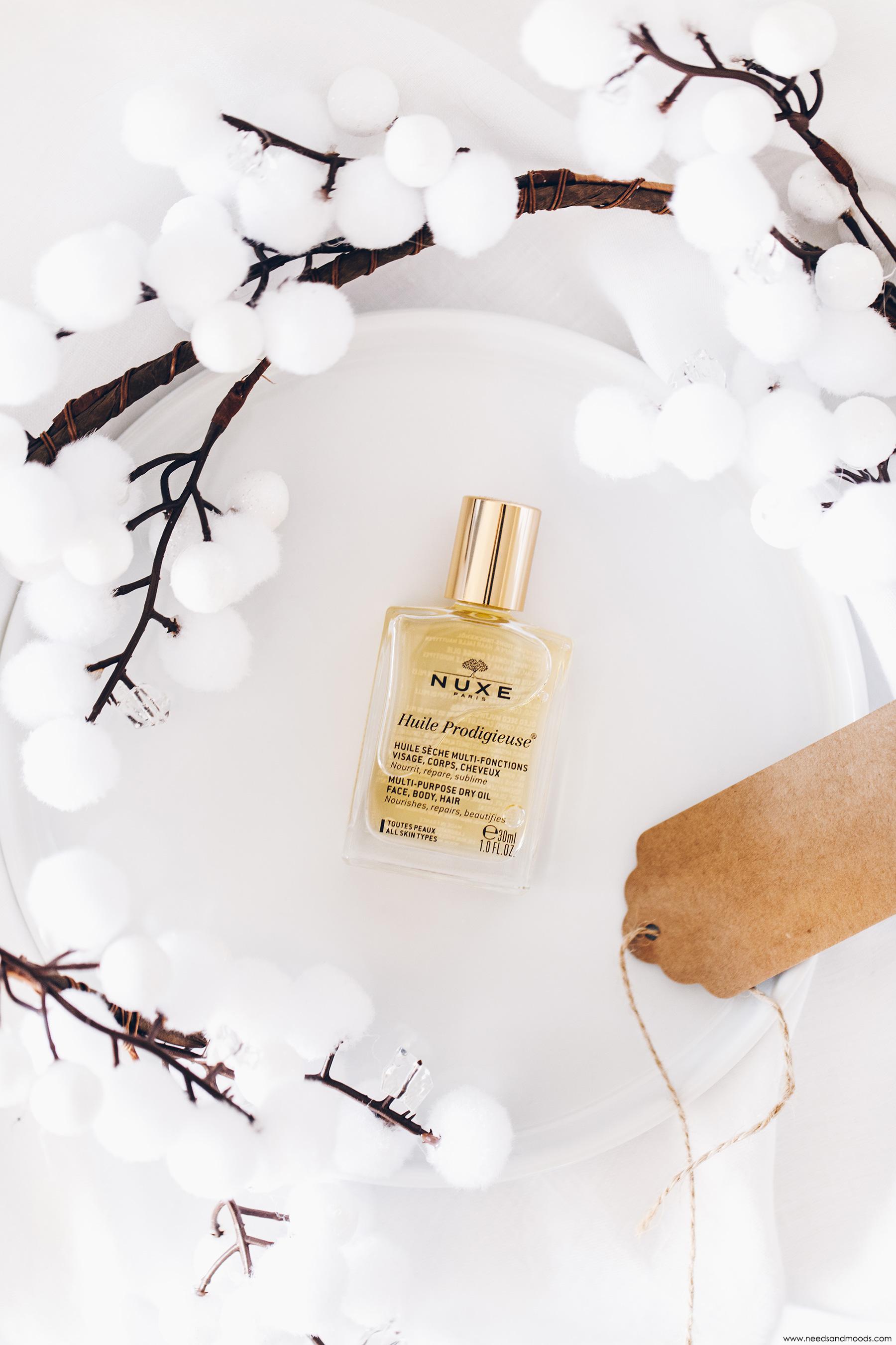 calendrier de lavent nuxe 2019 unboxing huile prodigieuse
