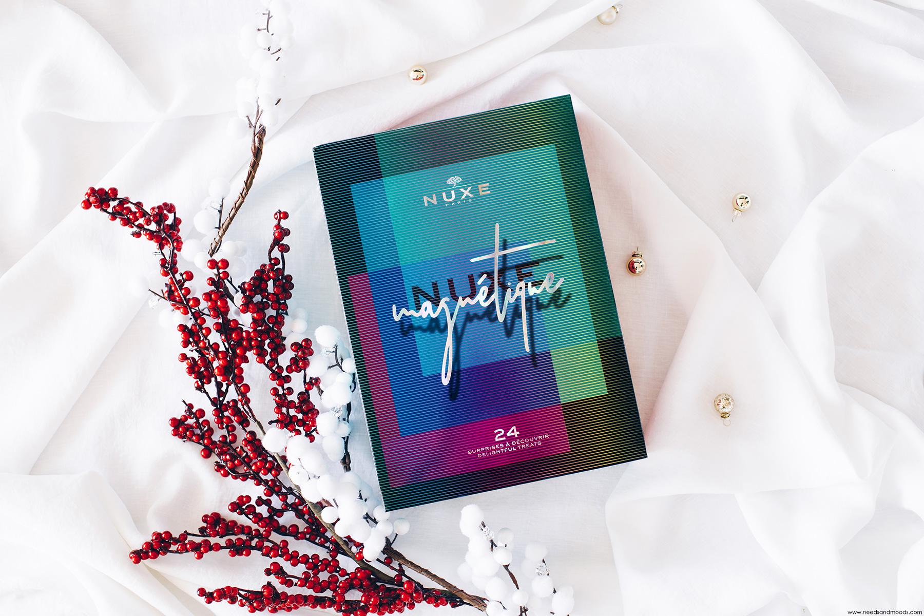 calendrier de lavent nuxe 2019 unboxing