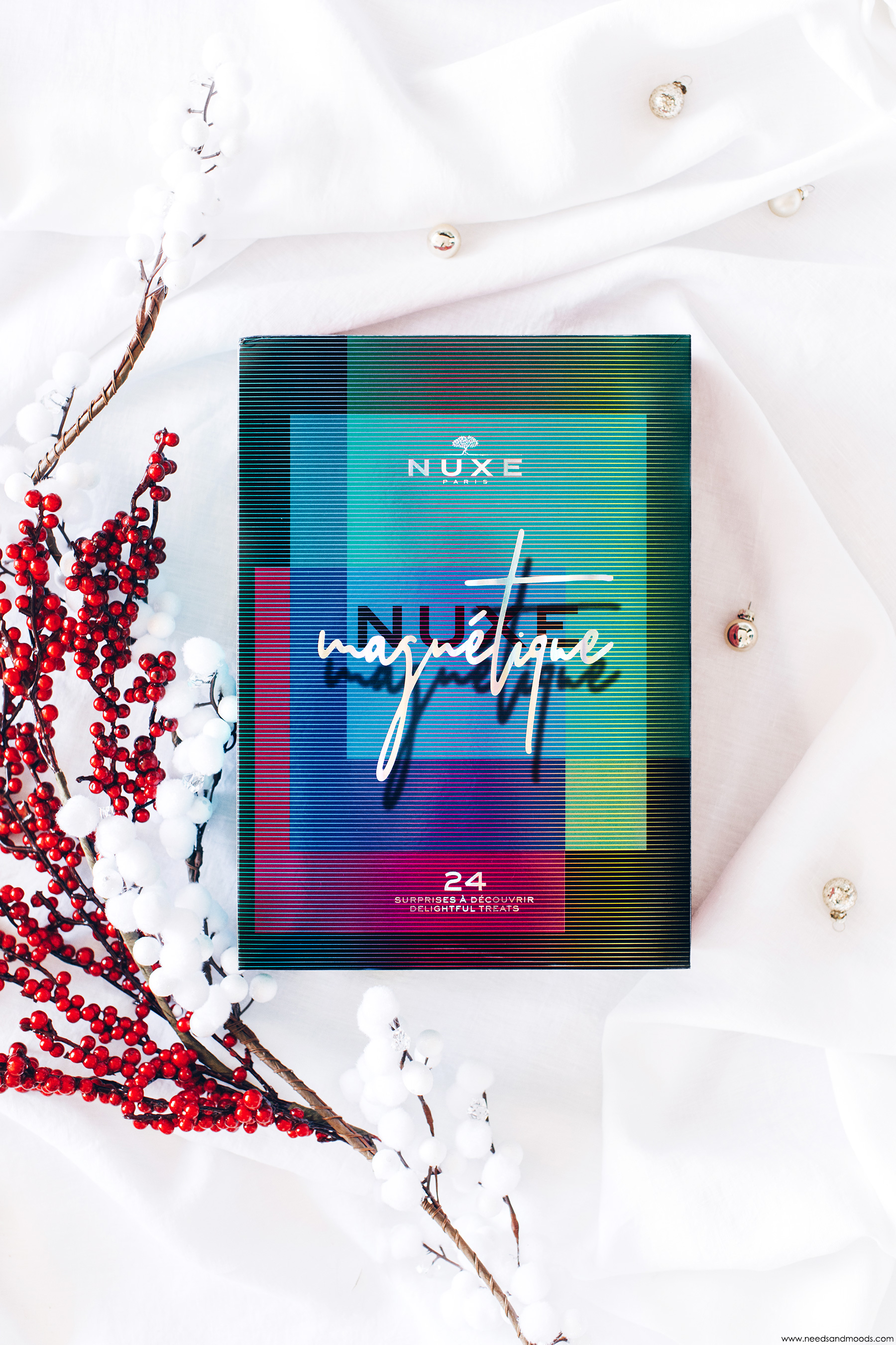 calendrier de lavent nuxe 2019