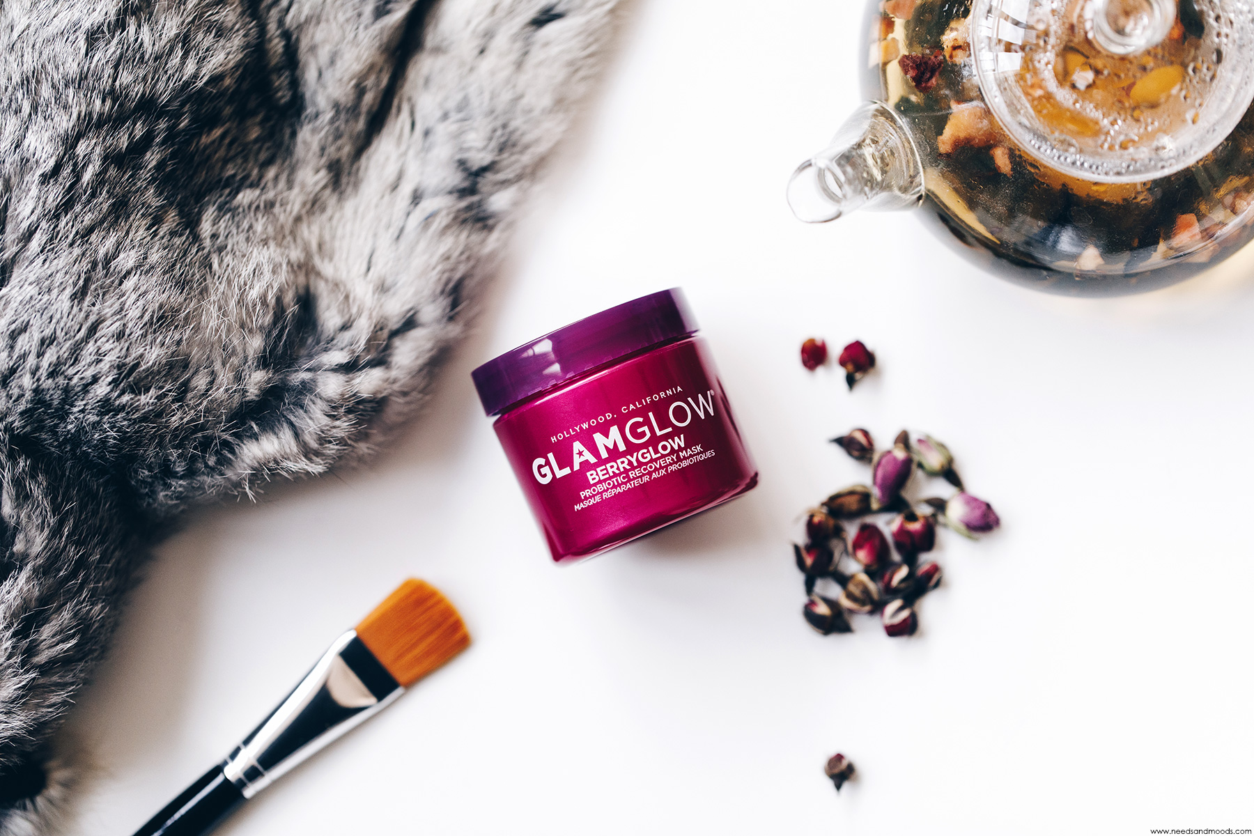glamglow berryglow masque reparateur probiotiques