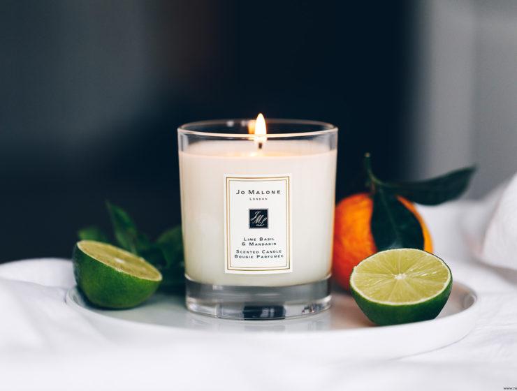 jo malone lime basil mandarin bougie parfumée