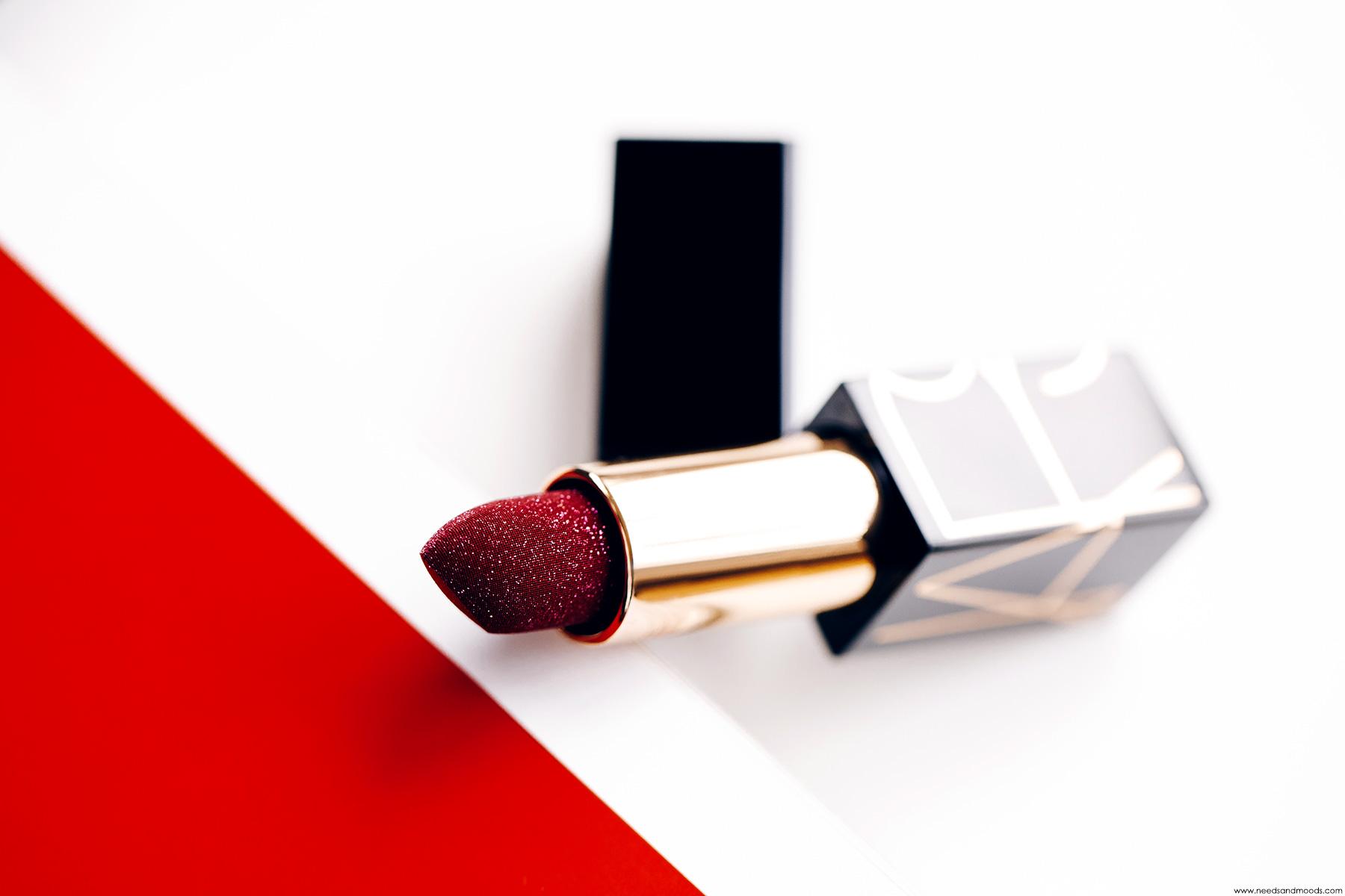 nars disco dust lipstick andy