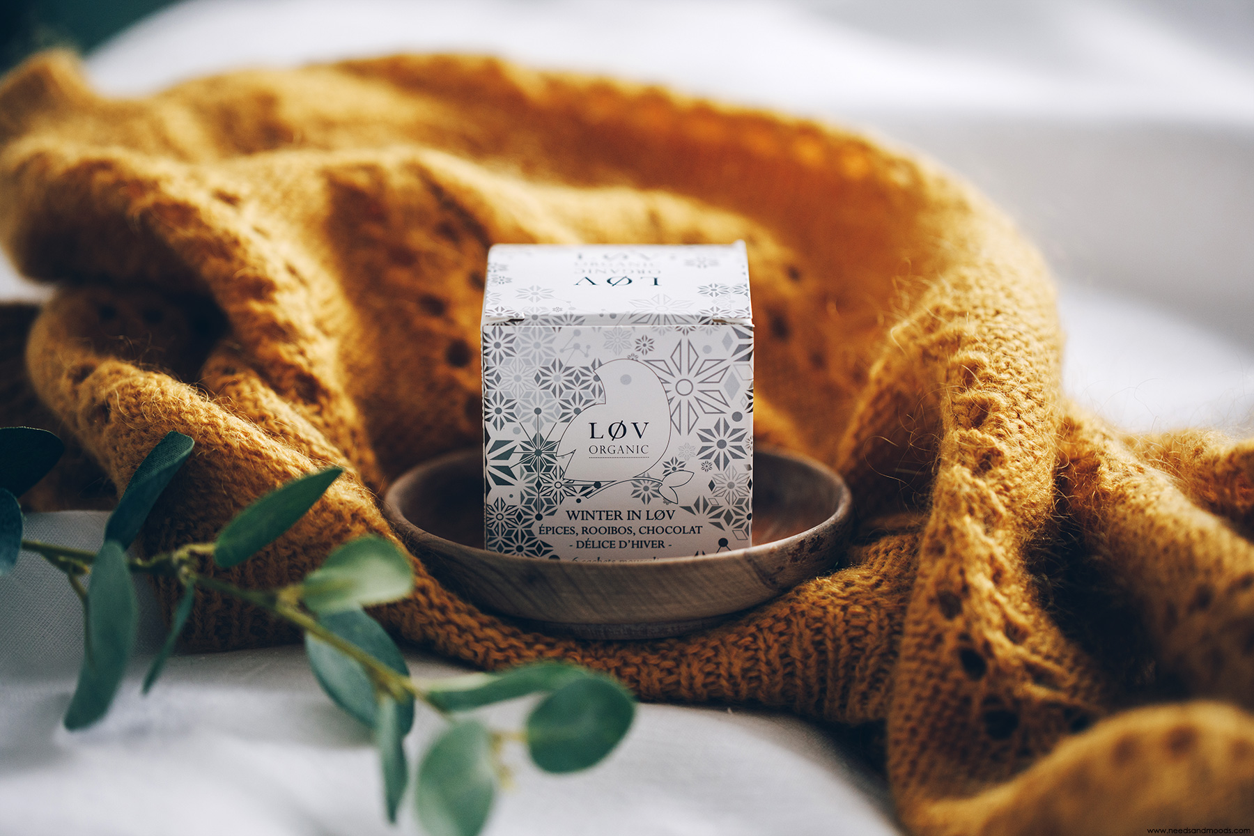 nuxe box beaute lov organic winter in lov