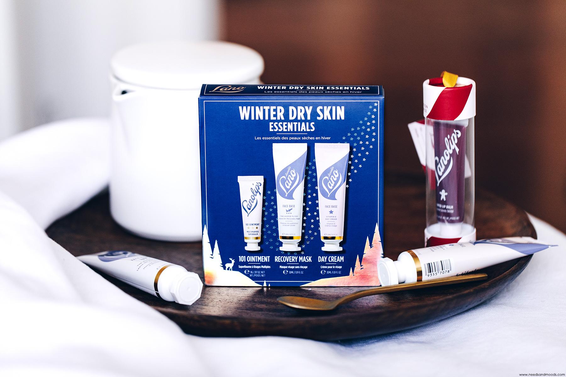 lanolips winter dry skin essentials