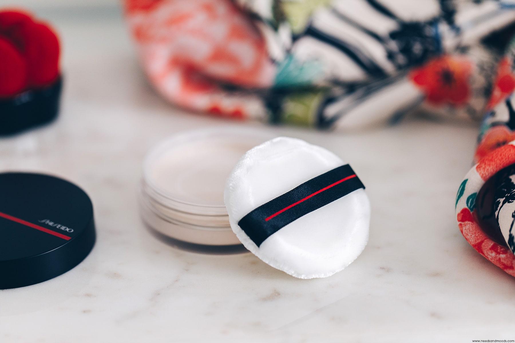 shiseido poudre libre synchro skin