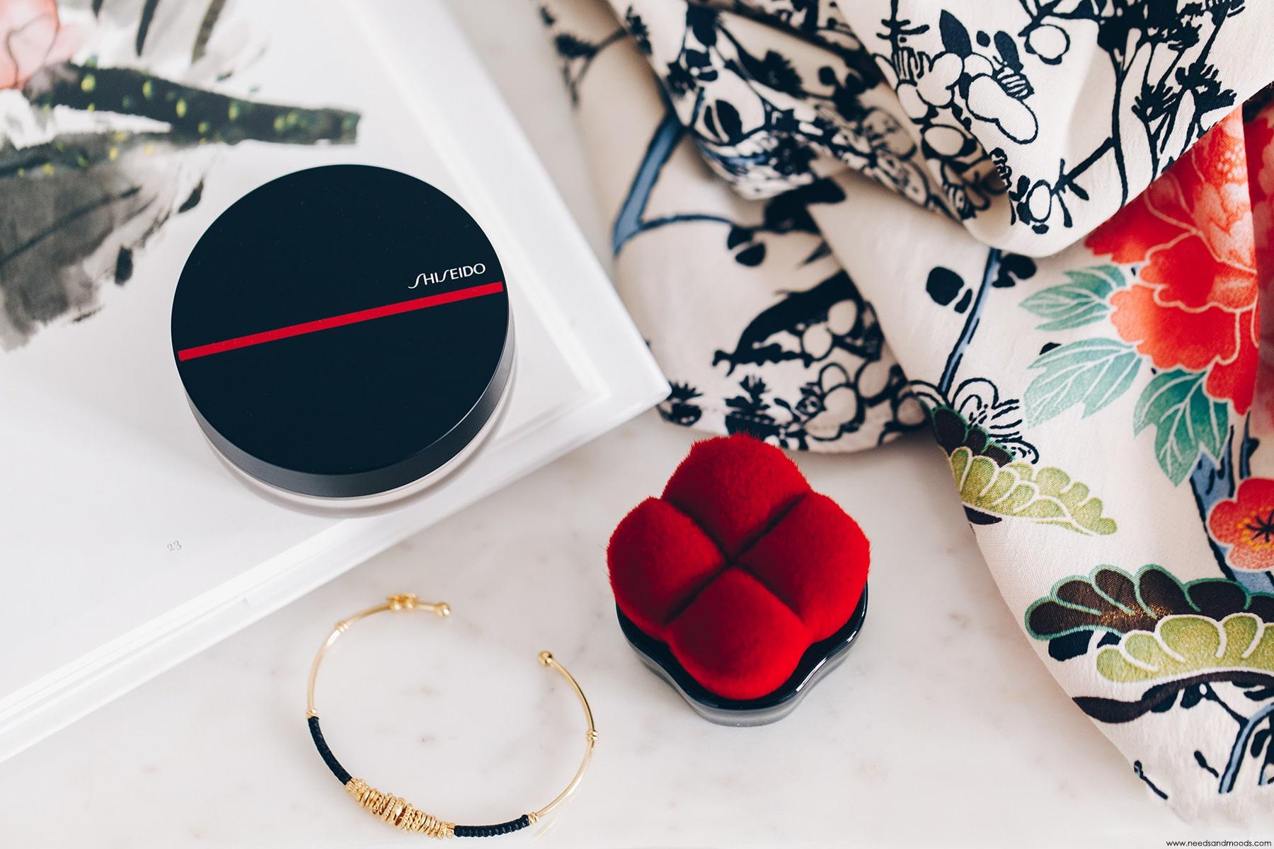 shiseido poudre libre visage