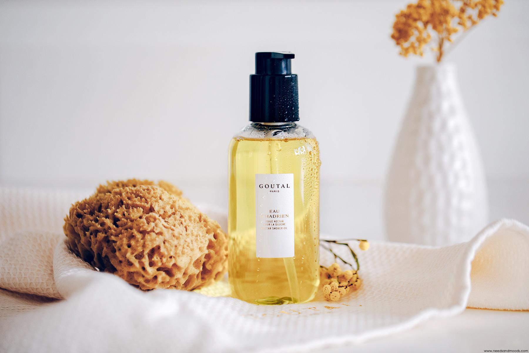 goutal huile nectar douche
