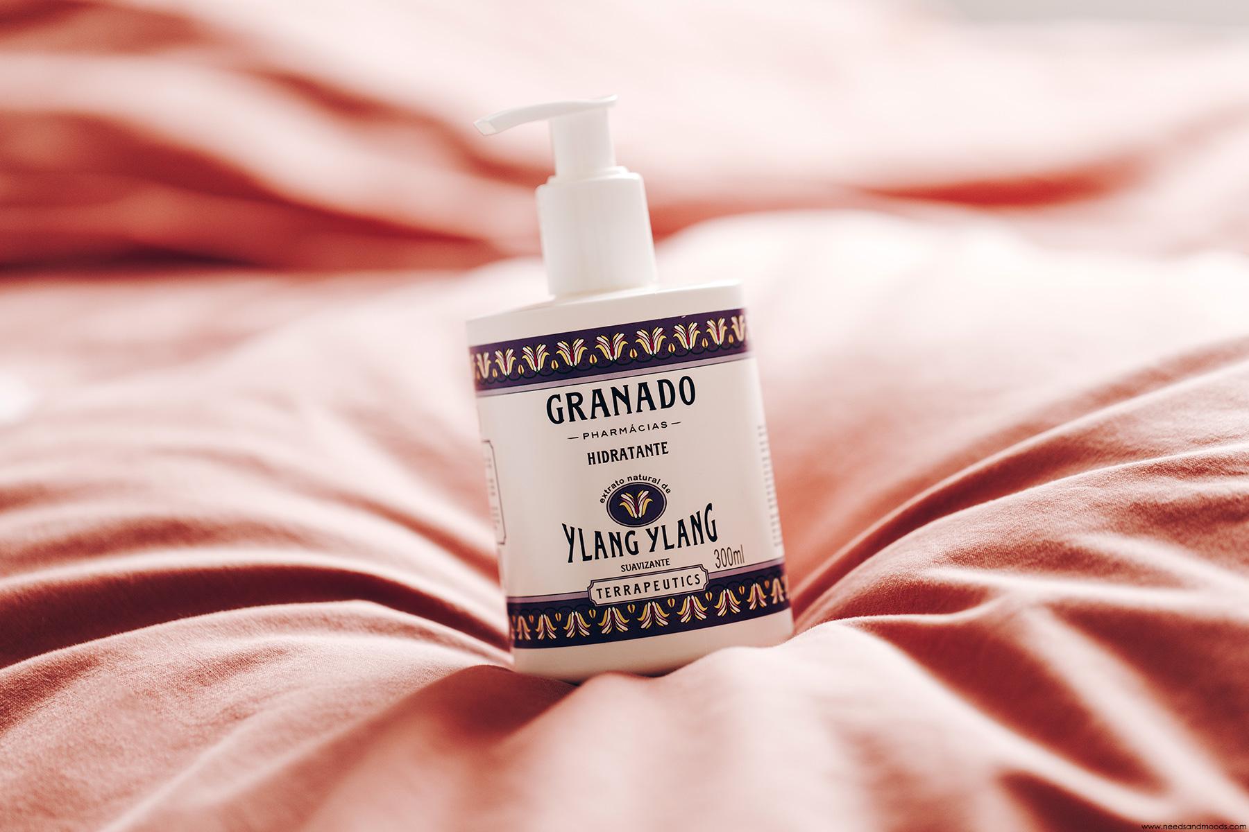 granado lait hydratant ylang ylang