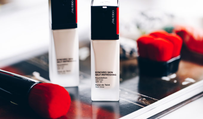 shiseido fond de teint synchro skin