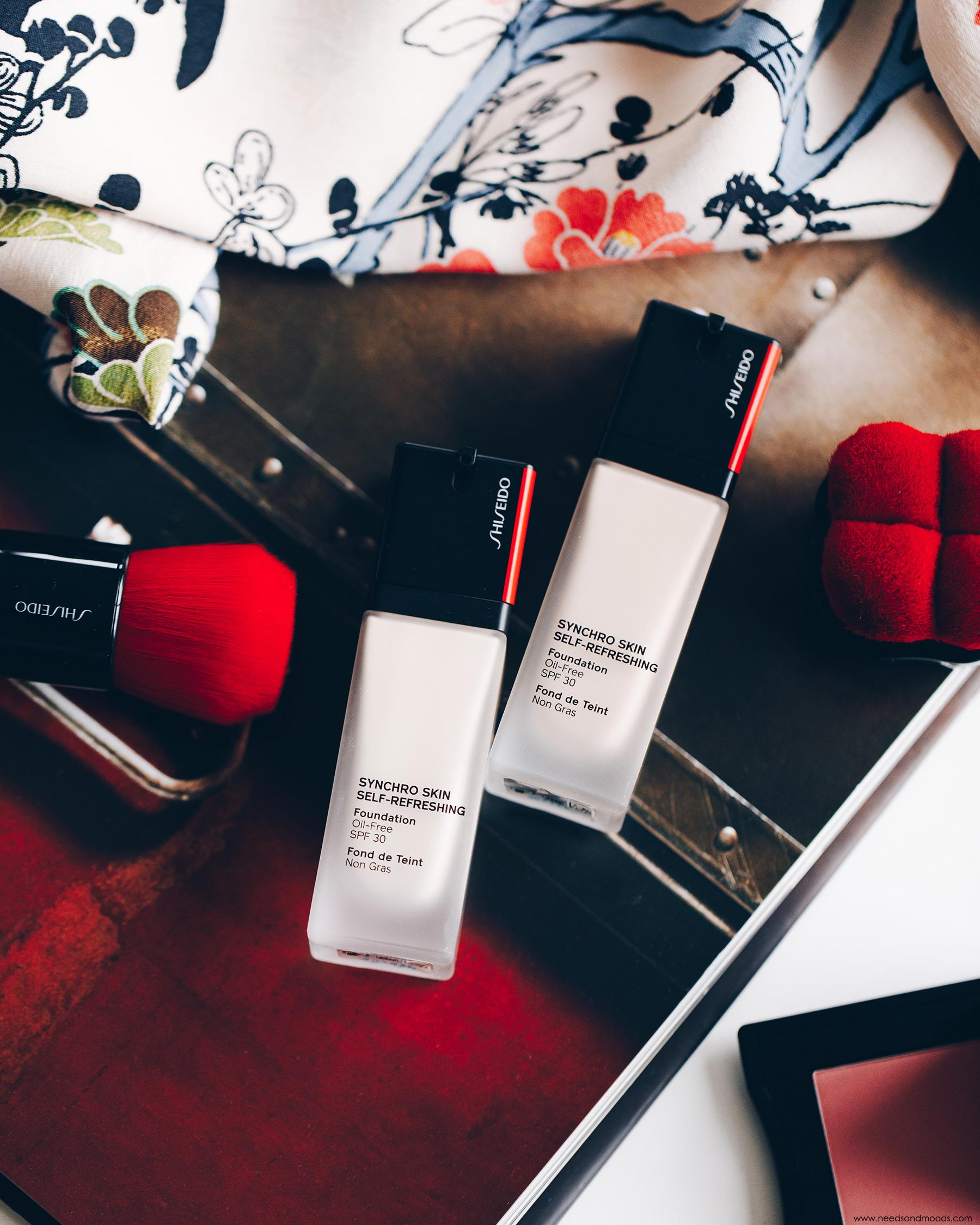 shiseido synchro skin fond teint avis