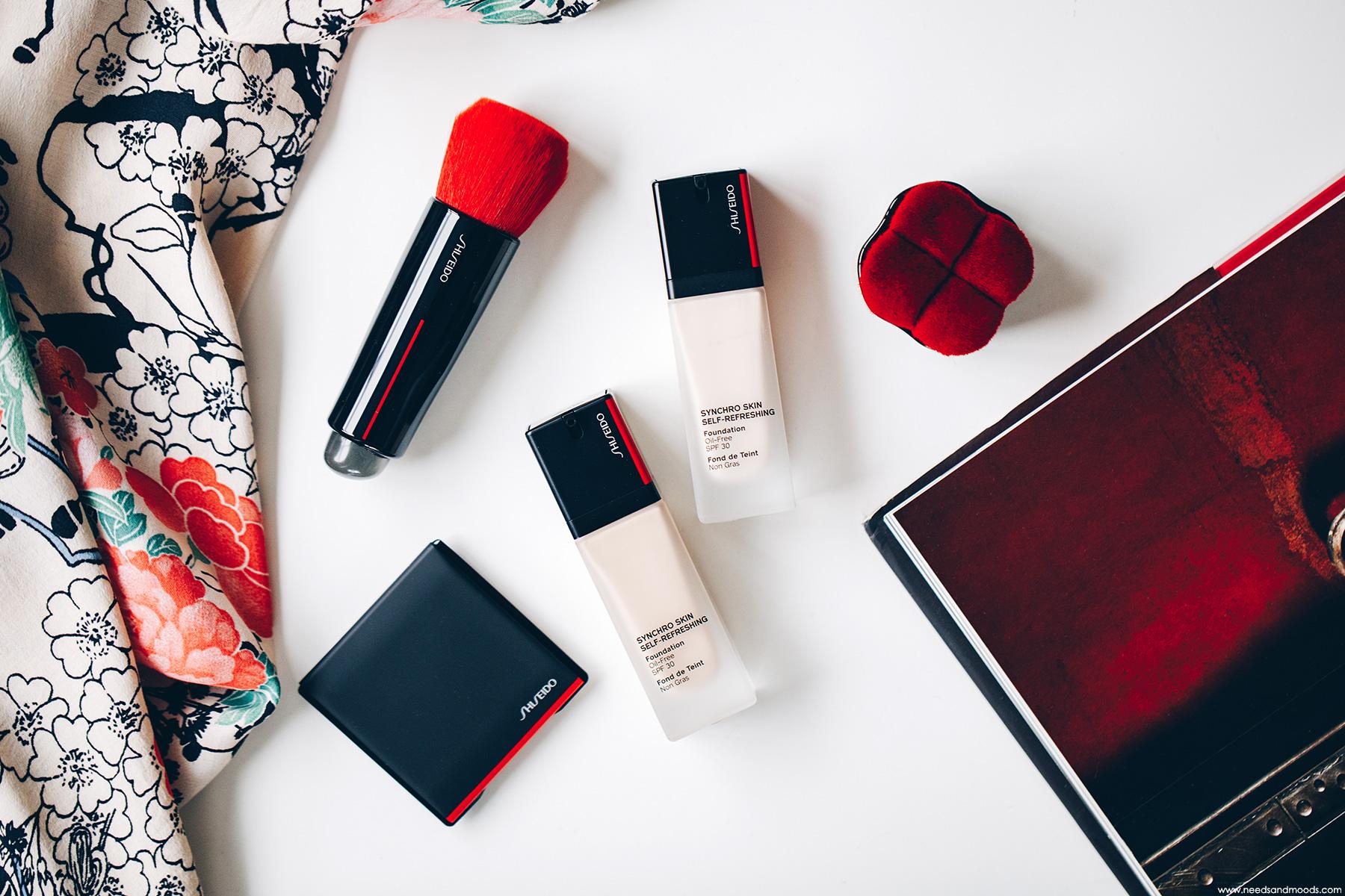 shiseido synchro skin self refreshing fond de teint