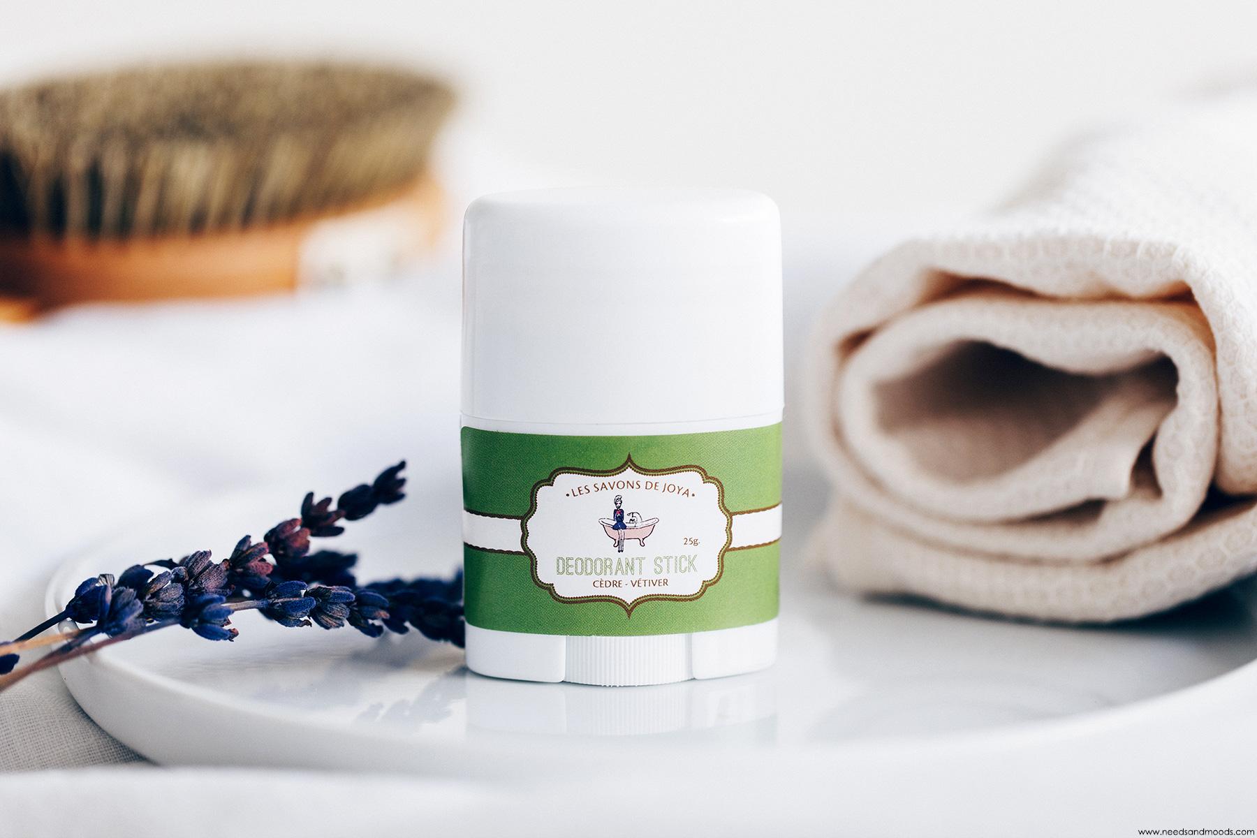 les savons de joya deodorant cedre vetiver