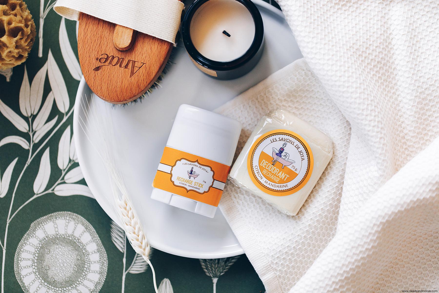 les savons de joya deodorant citron mandarine avis