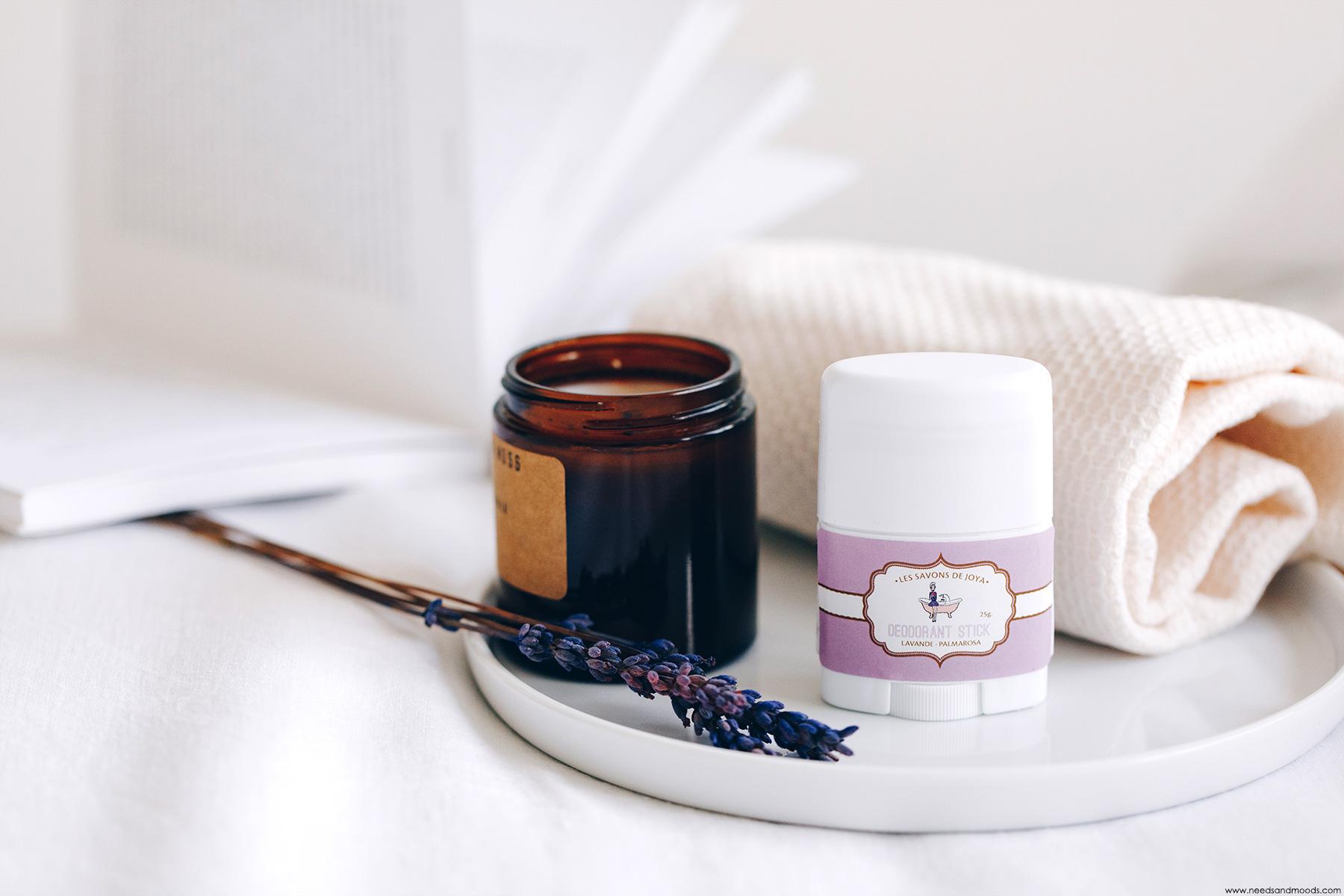 les savons de joya deodorant lavande palmarosa avis