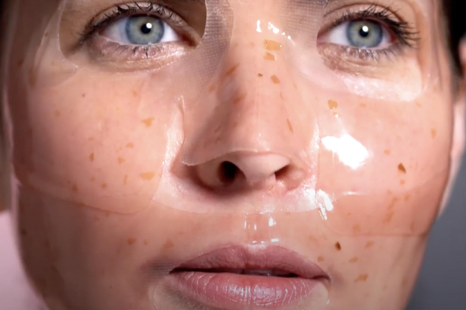 by terry baume de rose masque patch visage test