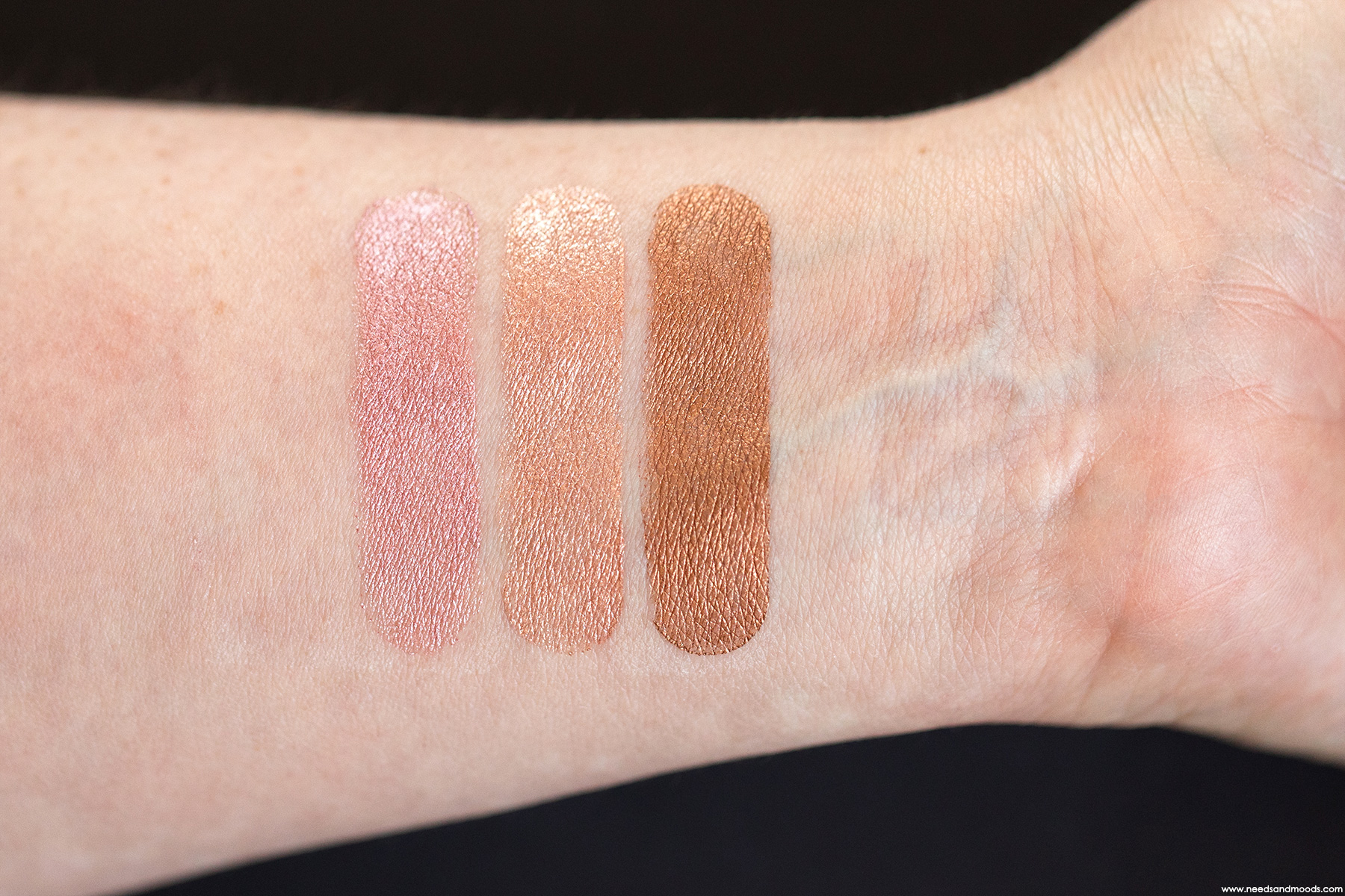 by terry ombre blackstar swatch immaculate light rose elixir sunny flash