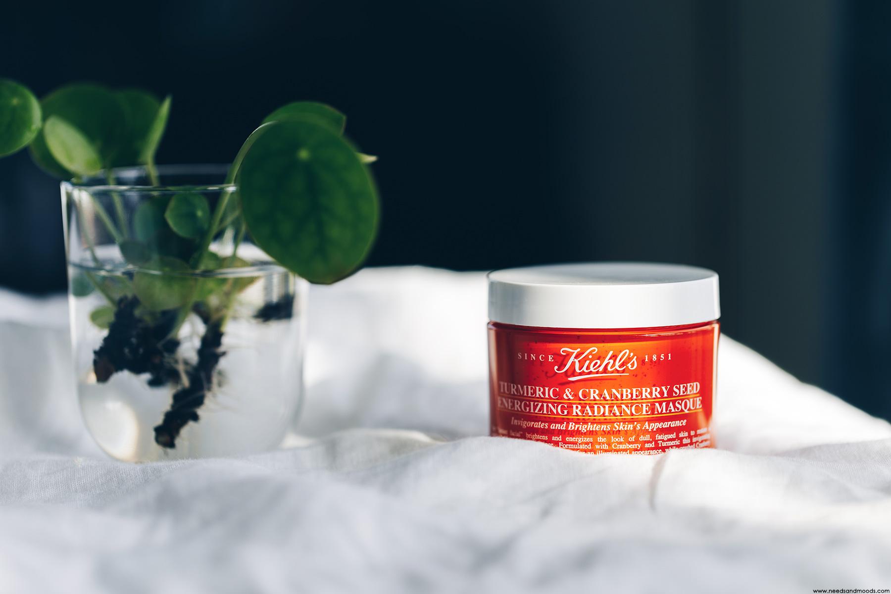 kiehl's turmeric cranberry seed energizing radiance masque avis