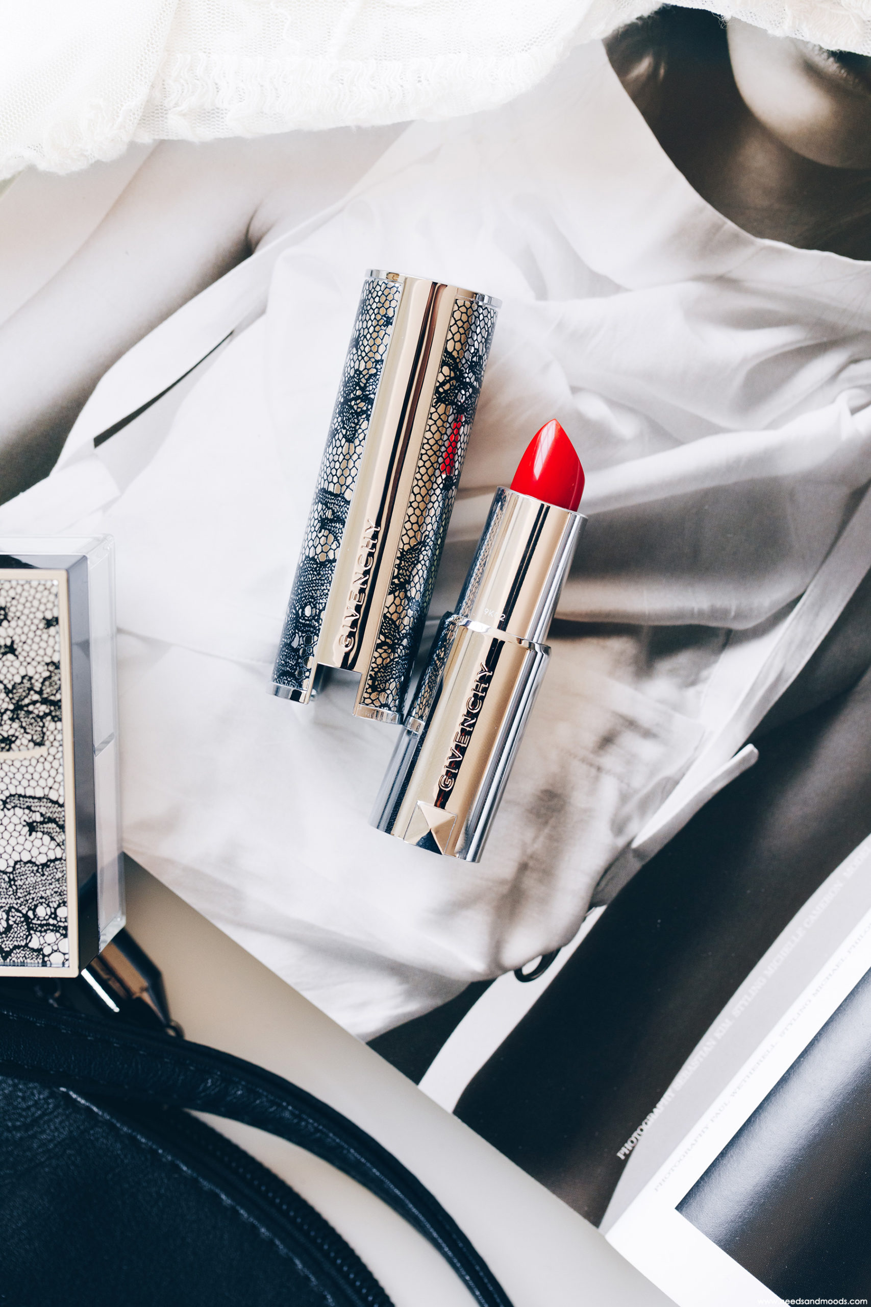 Givenchy Le Rouge Edition Couture Carmin Escarpin 306