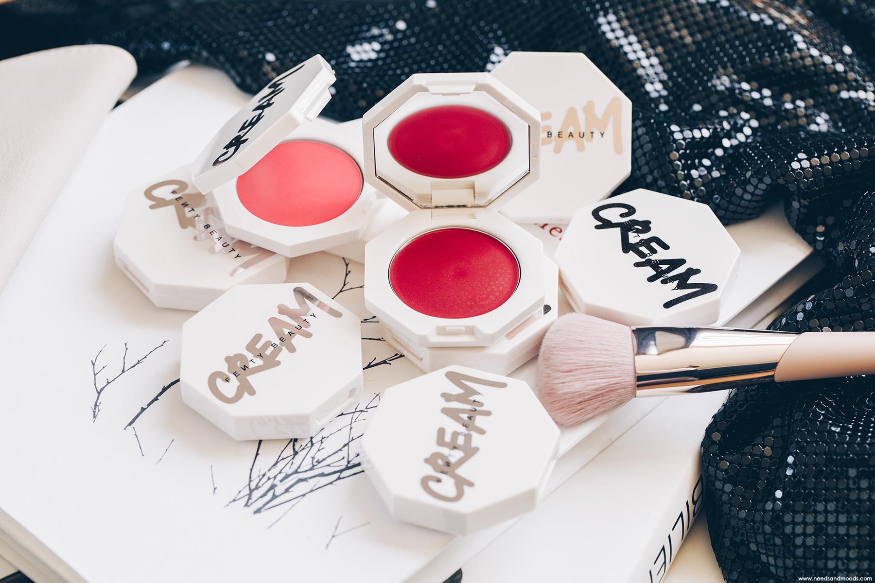 fenty beauty cheeks out freestyle cream blush strawberry drip