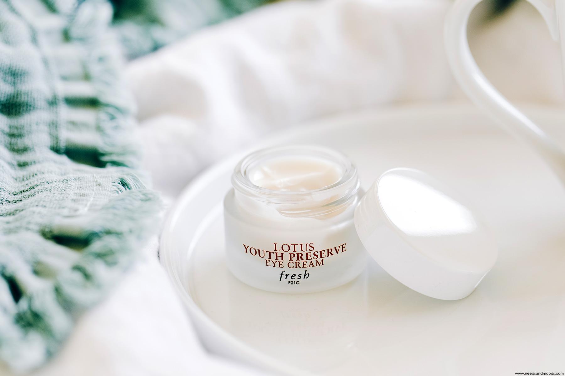 fresh lotus eye cream