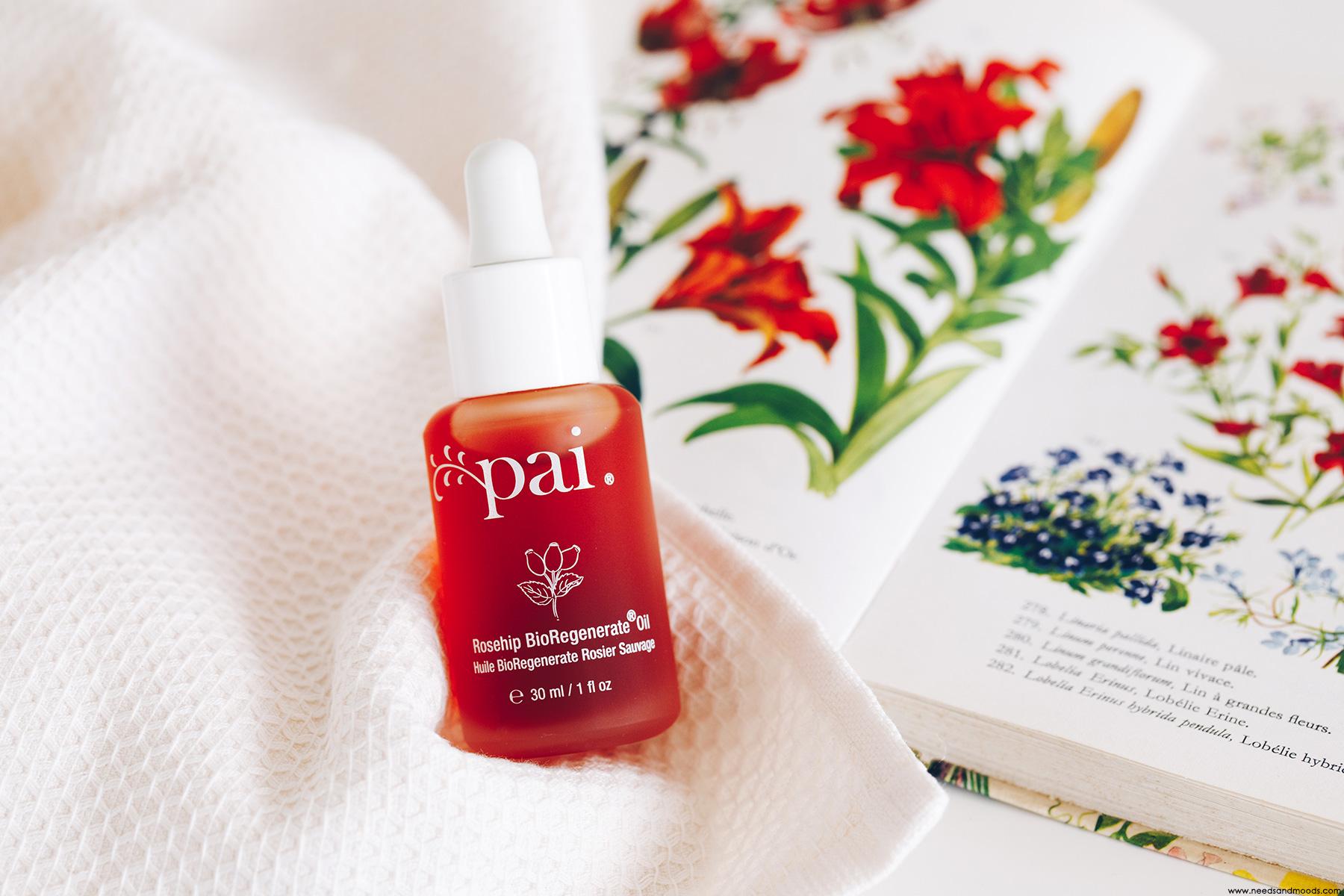 pai skincare huile bioregenerate rosier sauvage pai
